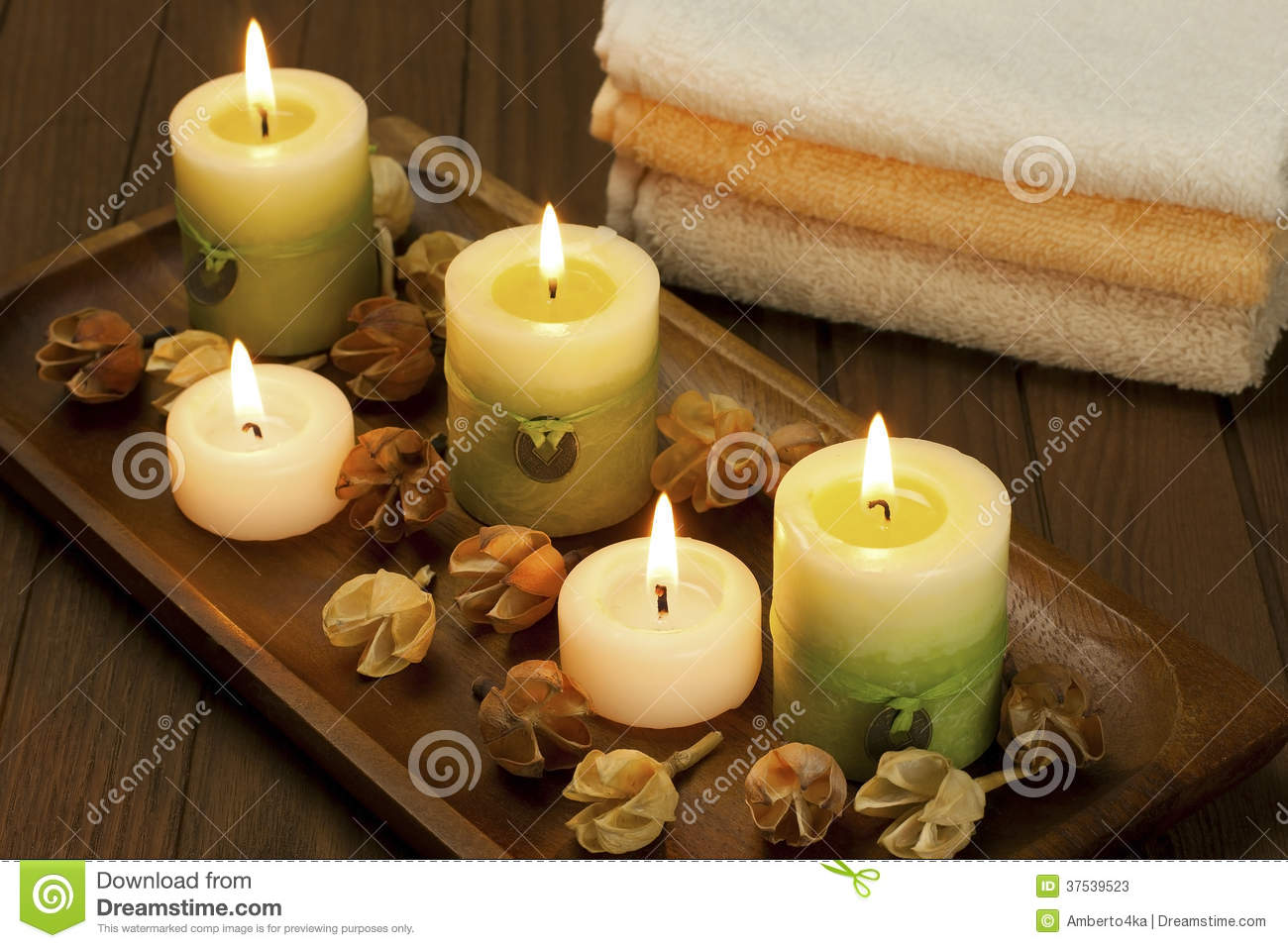 Decoration of home spa stock image. Image of care, boards   37539523