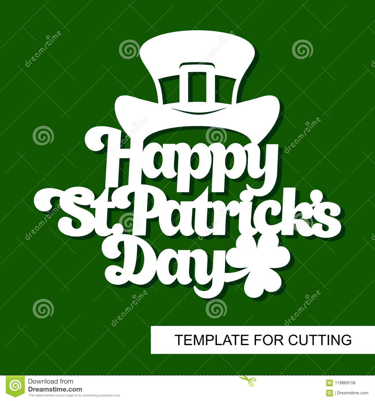 decoration for st patrick s day text happy st patricks day with