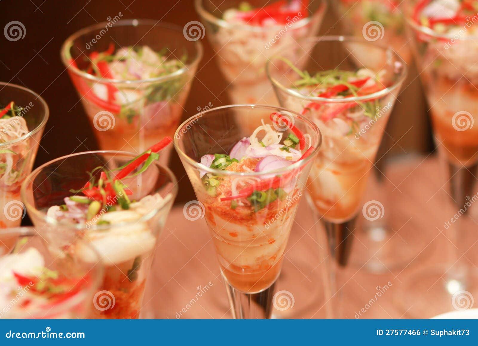 Decorations foods.