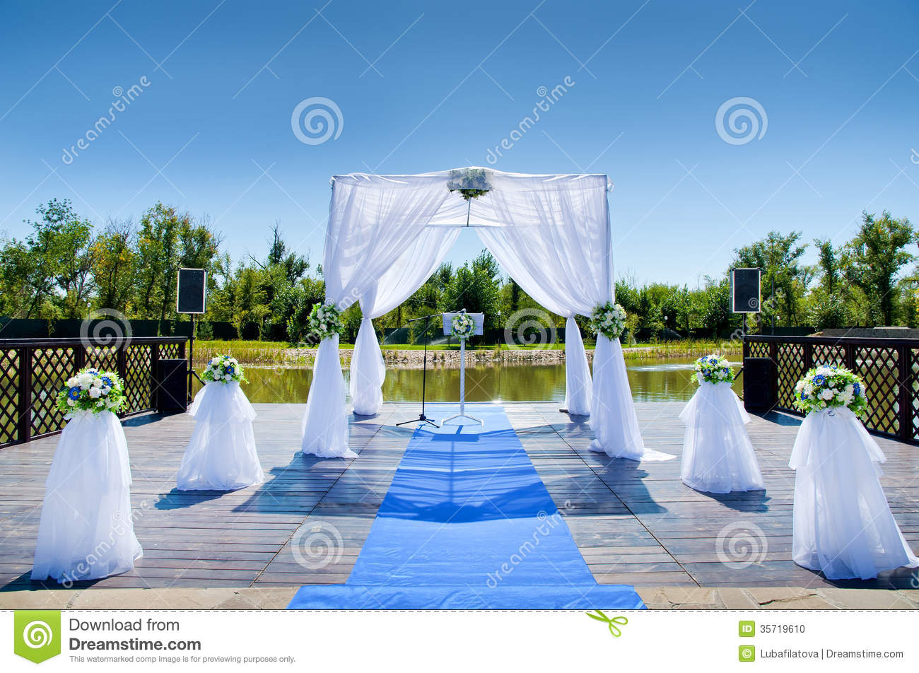 Decorations For The Wedding Stock Photo Image 35719610