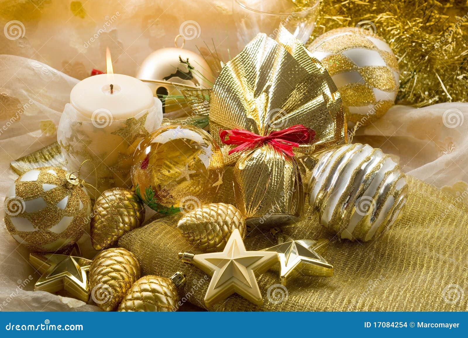 Decorationsi złota xmas