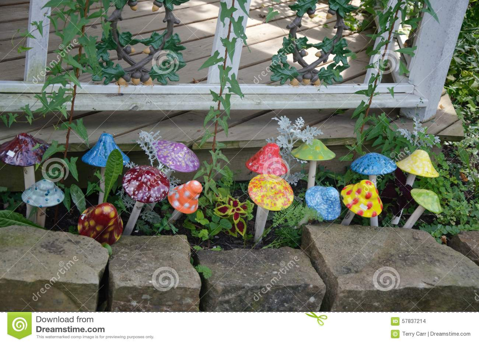 Decorative Artificial Mushrooms