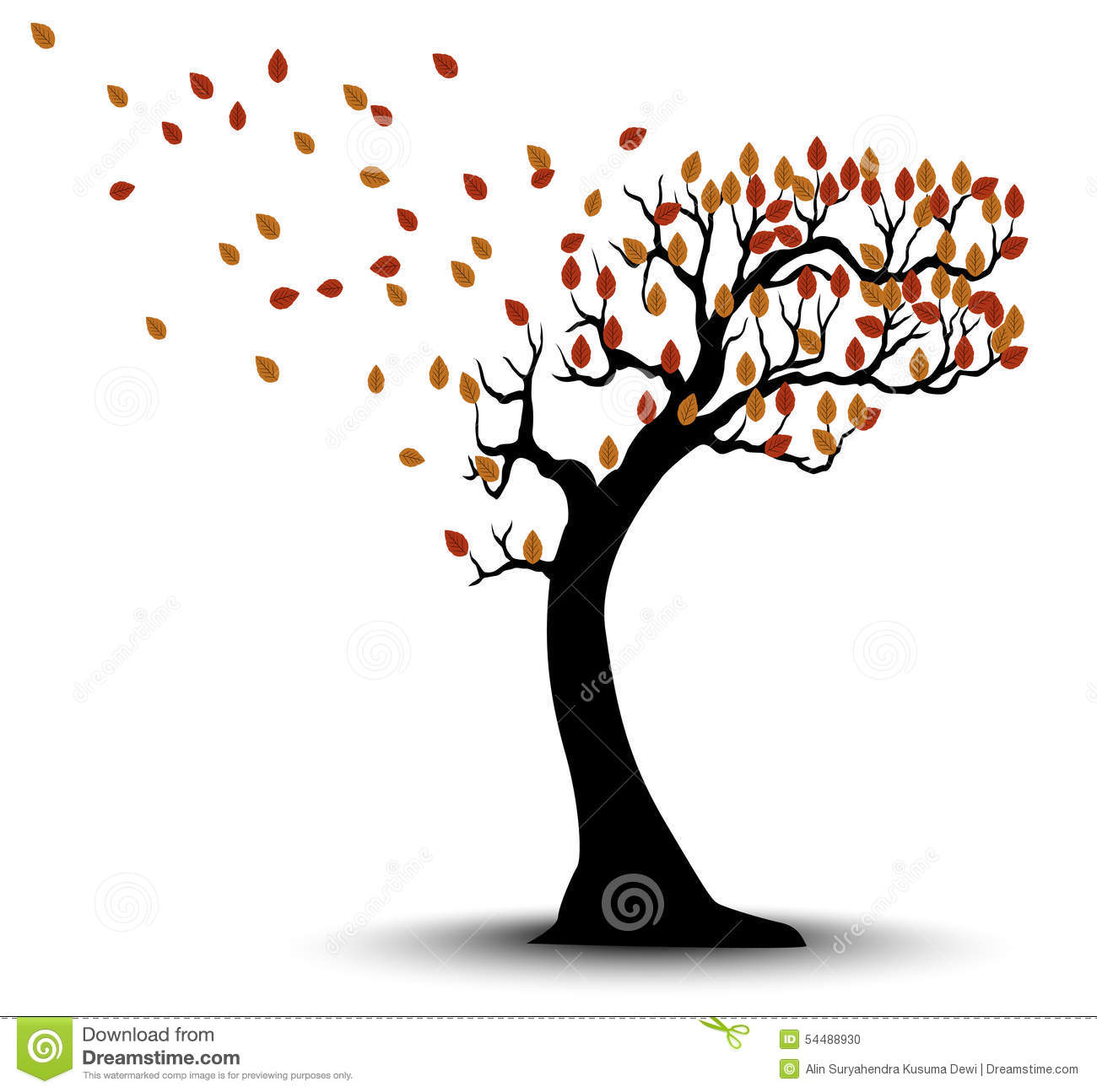 Most popular tags for this image include: tree, autumn, black, fog ...