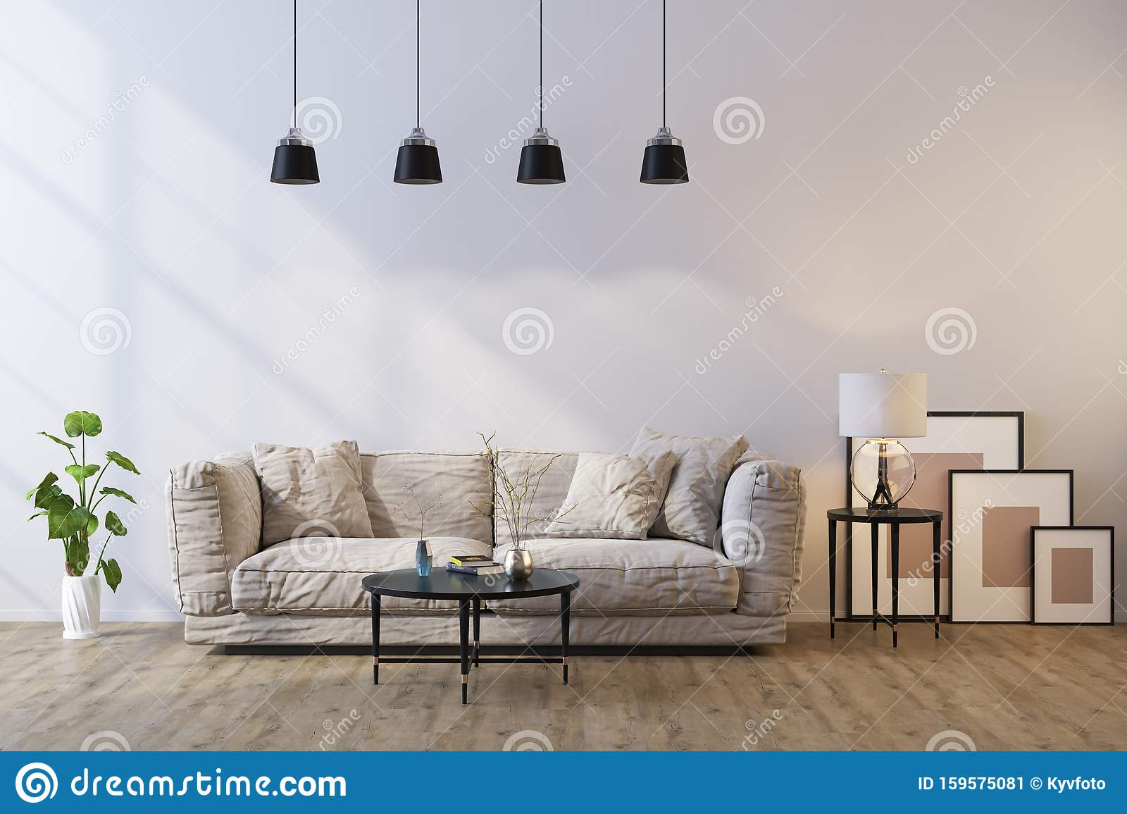 Decorative Background For Home Office And Hotel Modern Interior Design Stock Image Image Of Design Living 159575081