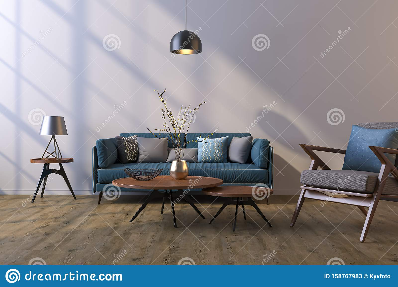 Decorative Background For Home Office And Hotel Modern Interior