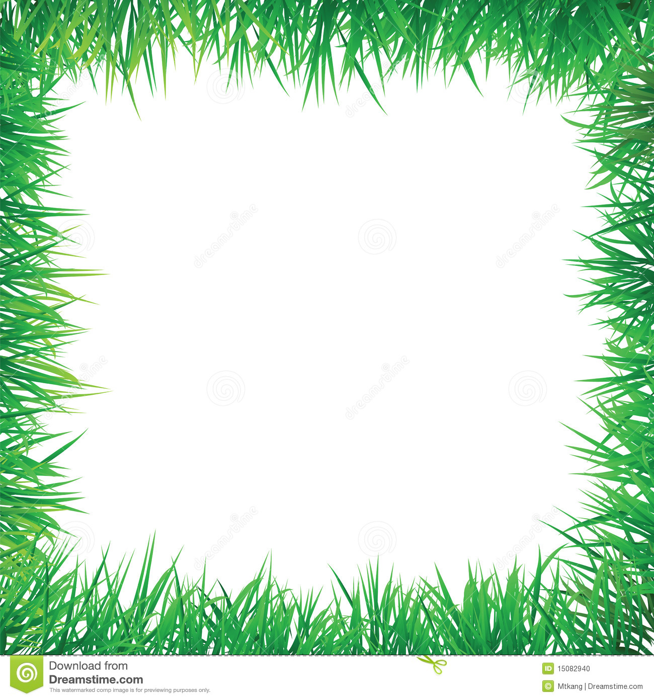 Decorative border stock photo image 15082940 for Best grasses for borders