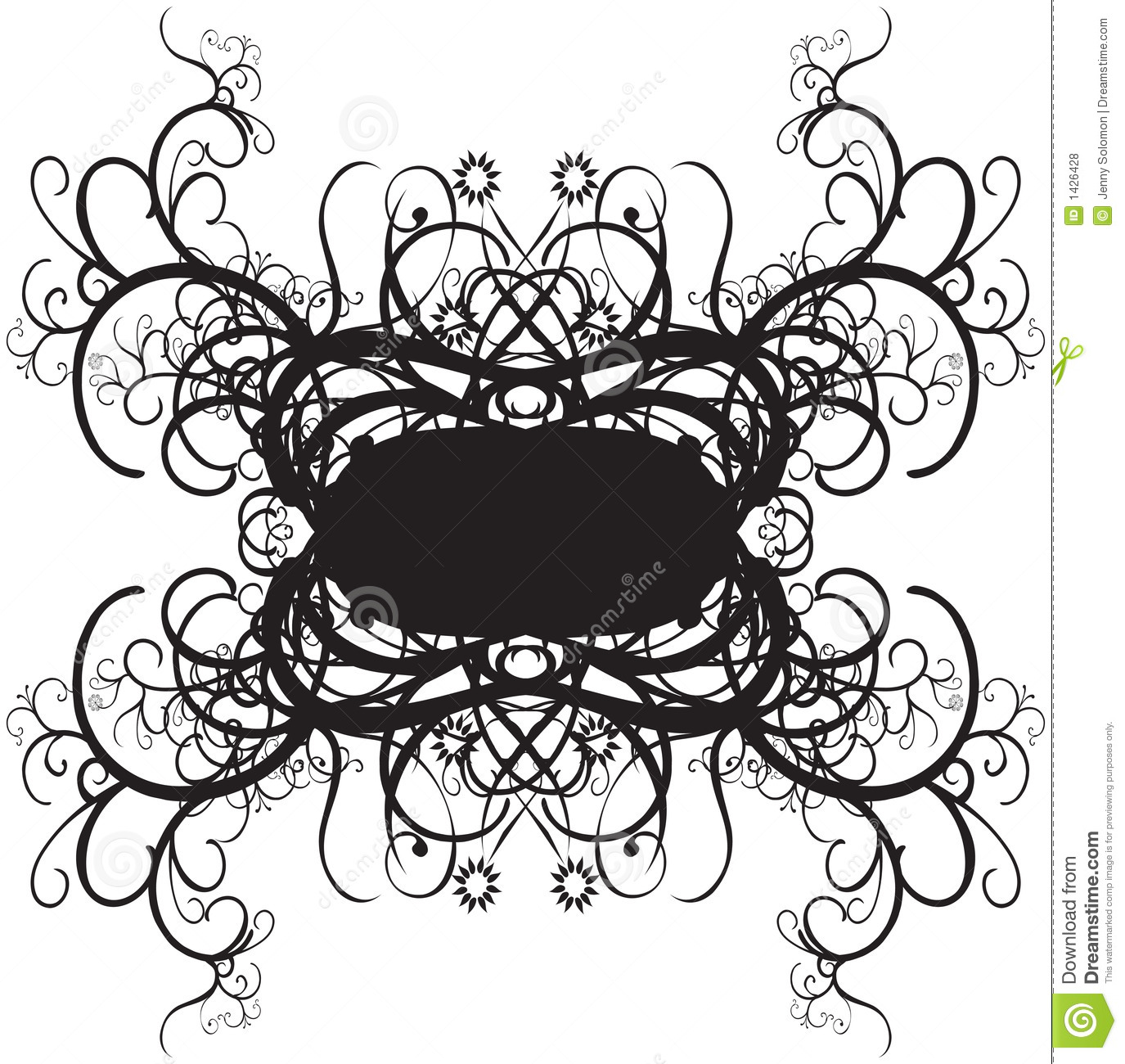 Decorative Border Designs Stock Vector Illustration Of Original