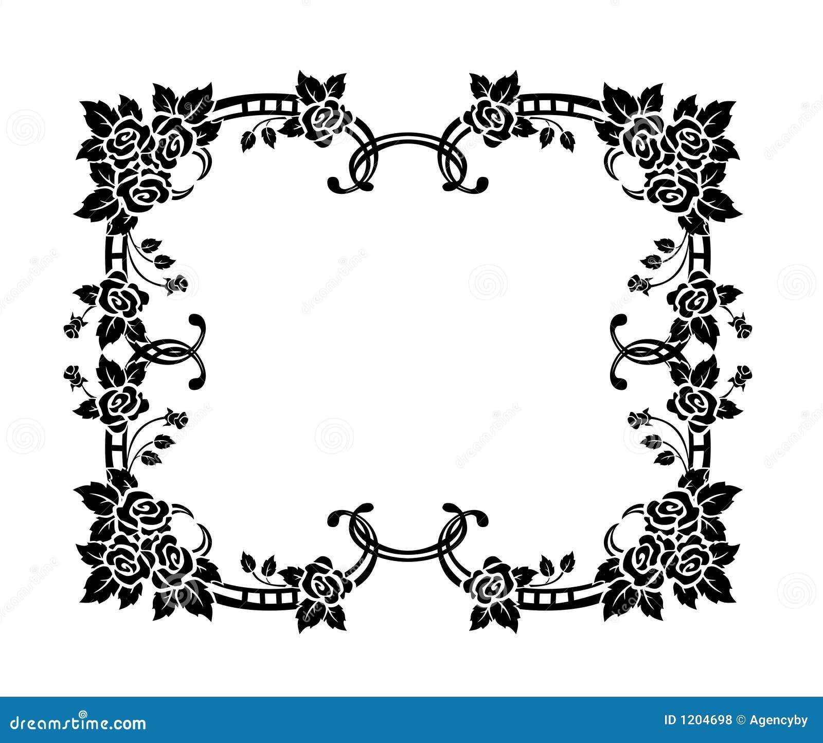 Decorative Border Ornament Royalty Free Stock Photos Image 1204698