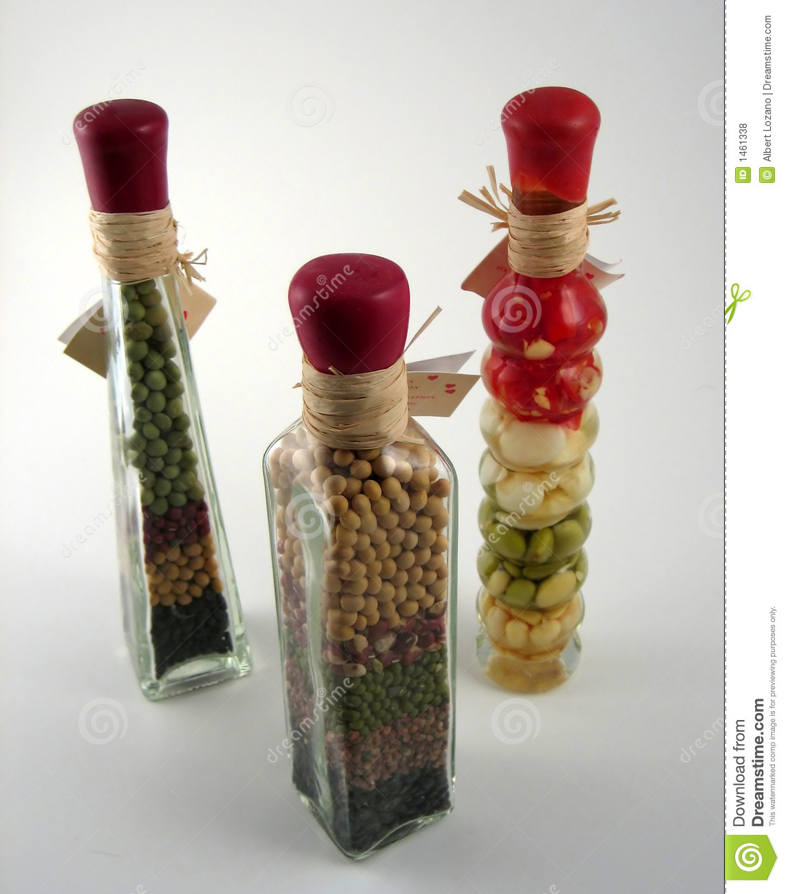Decorative bottles stock photo image of affection fluid for Decorative vials