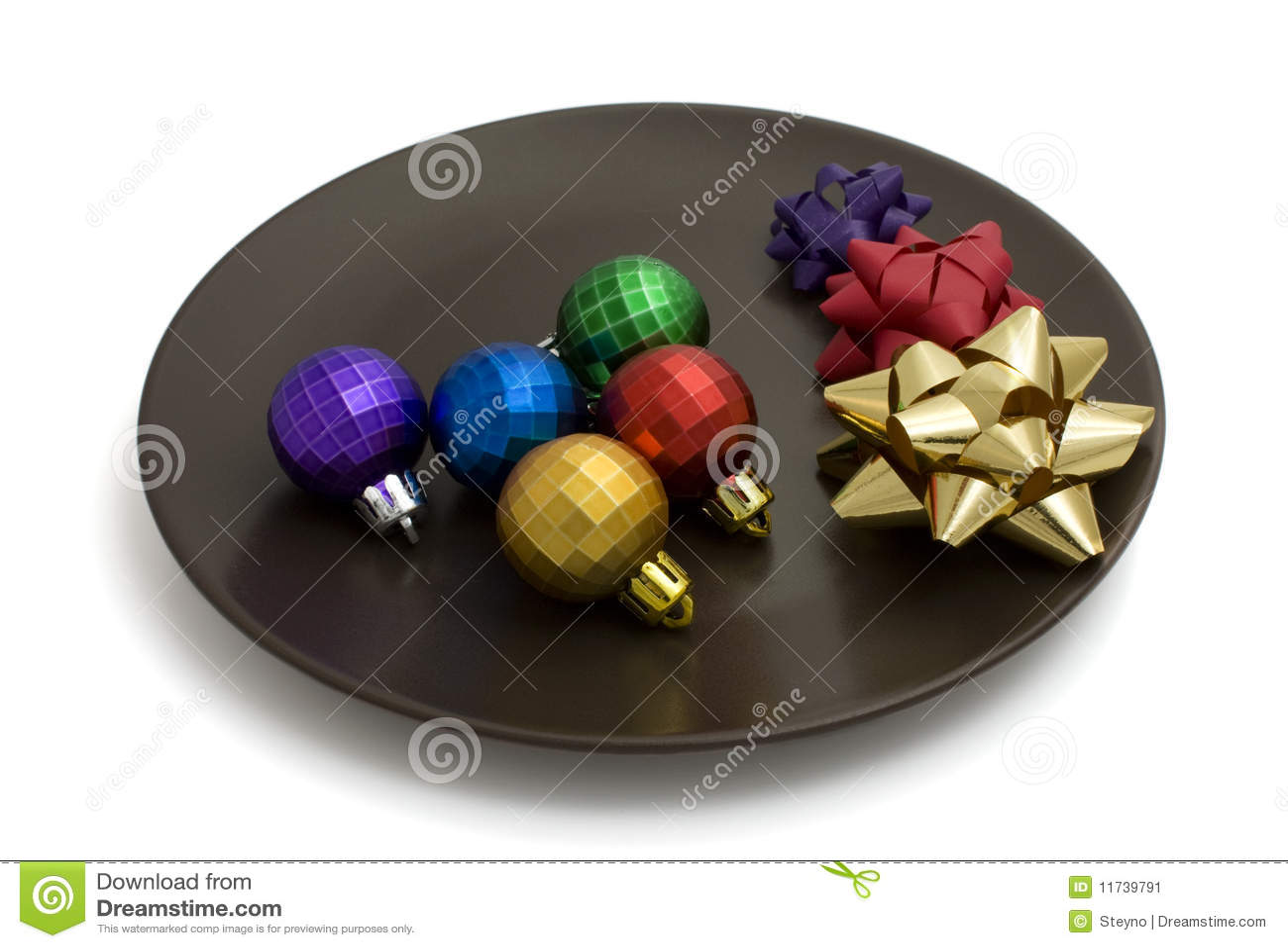 Decorative colored balls ciabiz