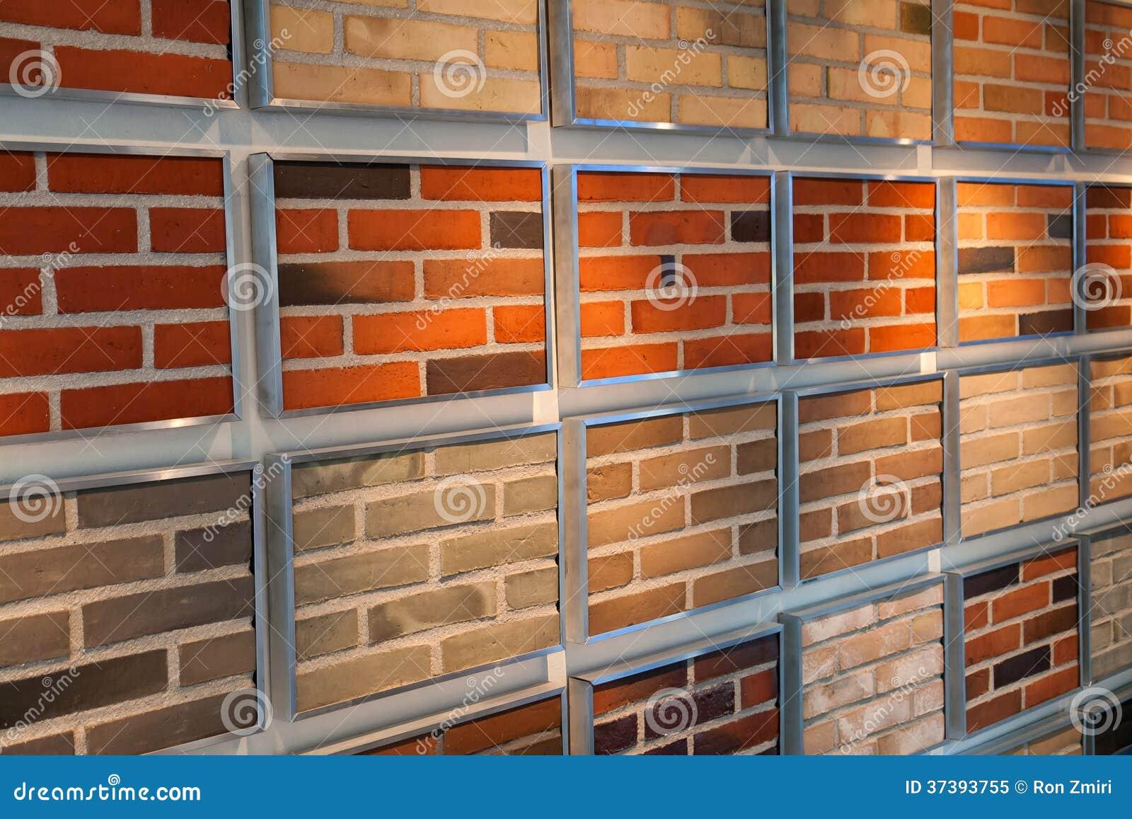 Decorative Bricks On Display Stock Image Image Of Solid