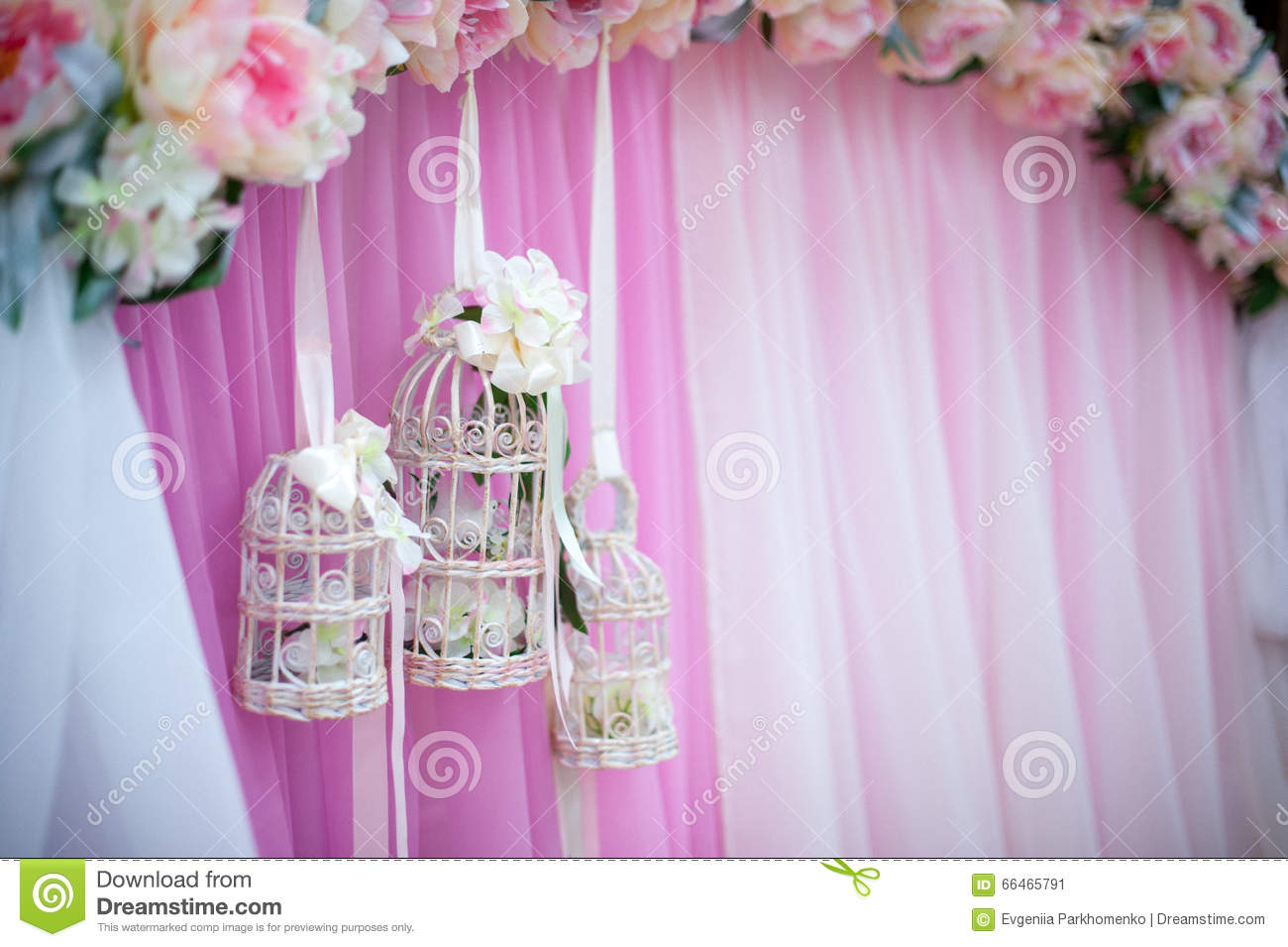 Decorative Cage At The Wedding Stock Image - Image of concepts ...