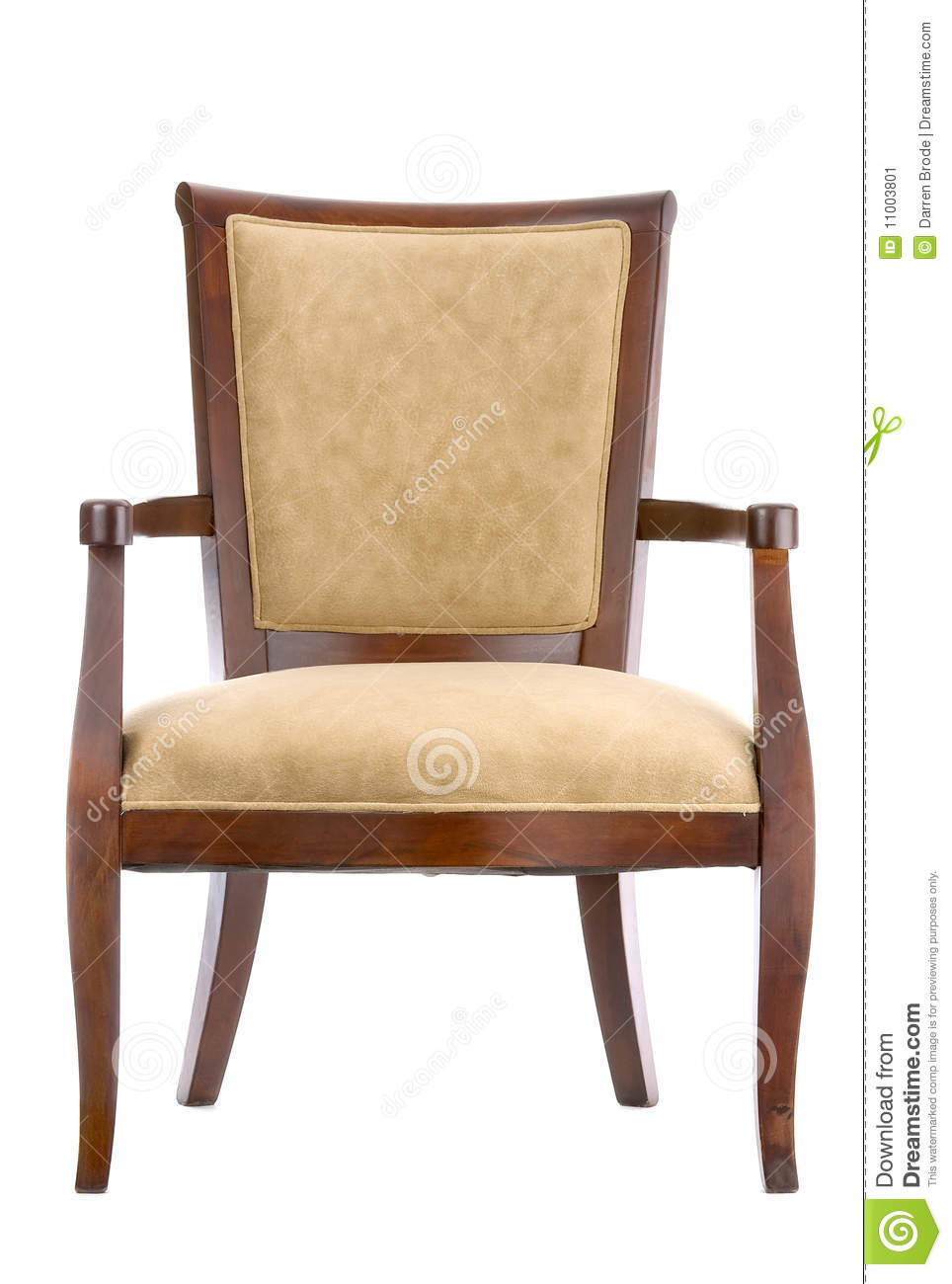 Decorative Chair Stock Image Image Of White Legs Decorative