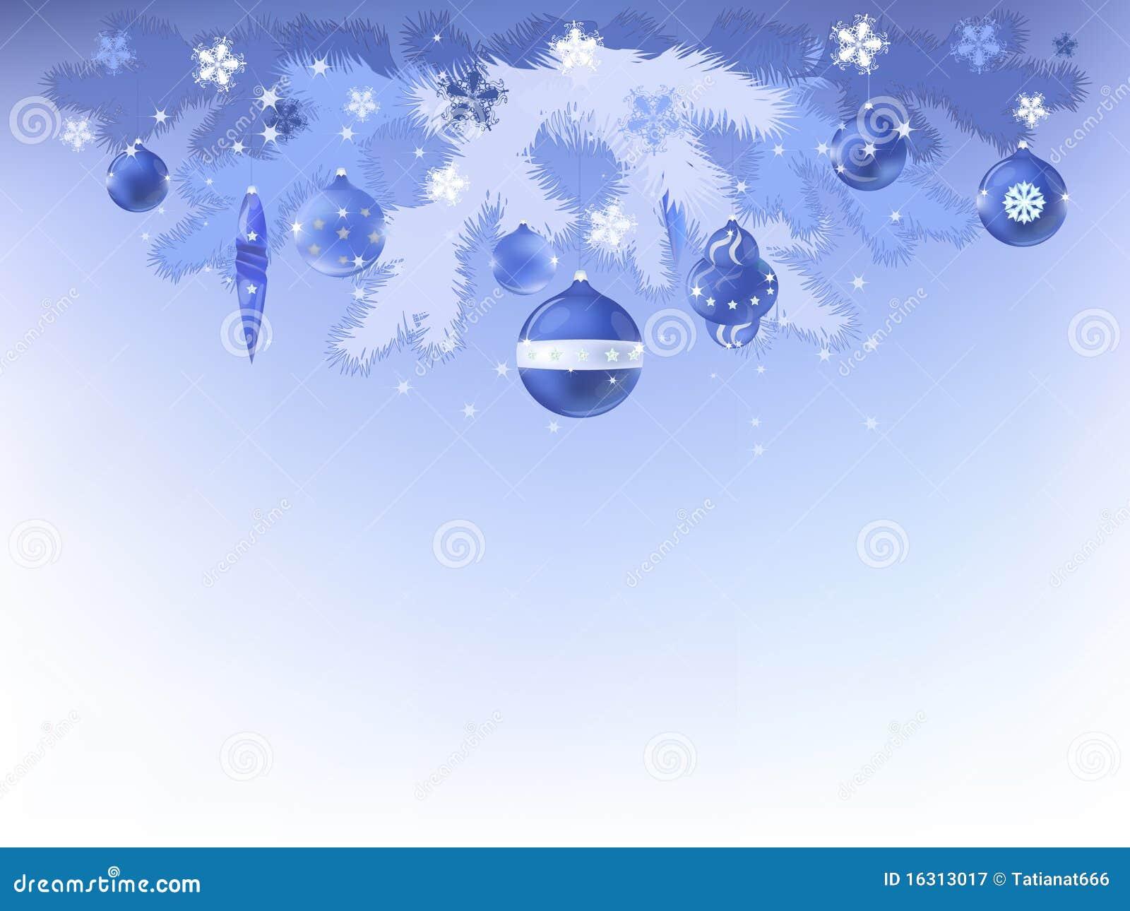 Decorative Christmas, New Year, Postcard Royalty Free Stock ...