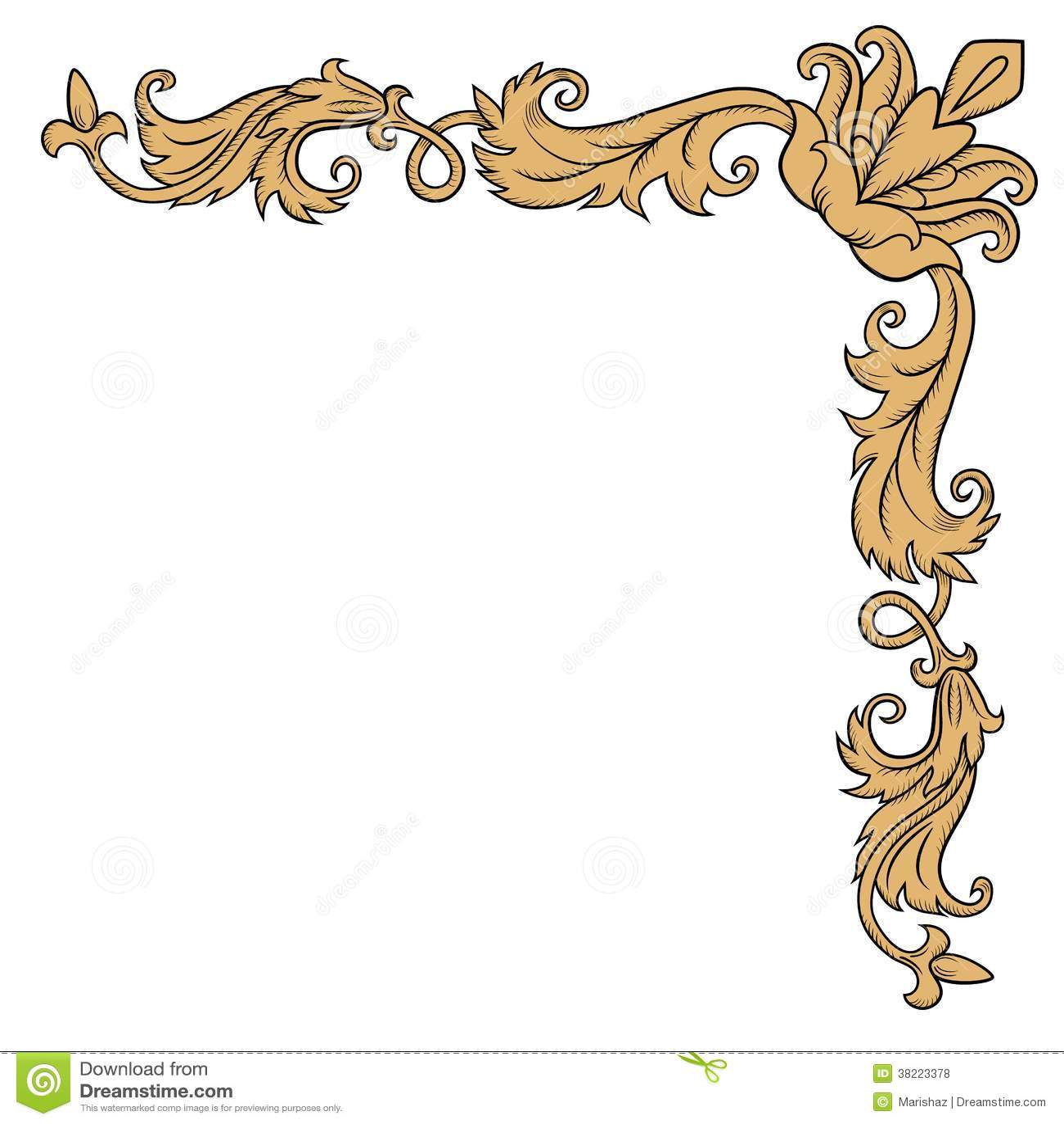 Pin Decorative Corner Image Vector Clip Art Online Royalty ...
