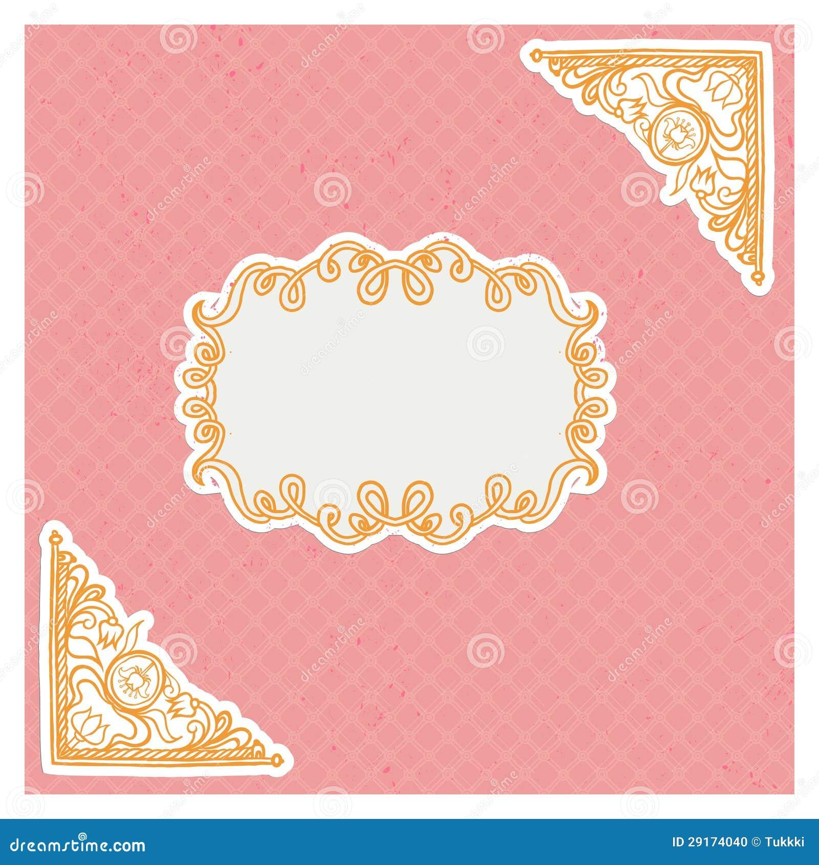 Blank Wedding Invitation with adorable invitations design