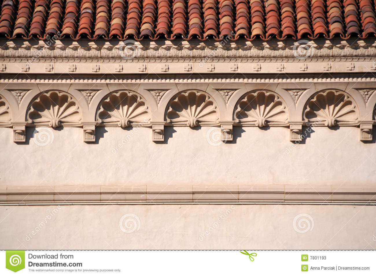 Decorative Cornice Stock Image Of Closeup Elevation