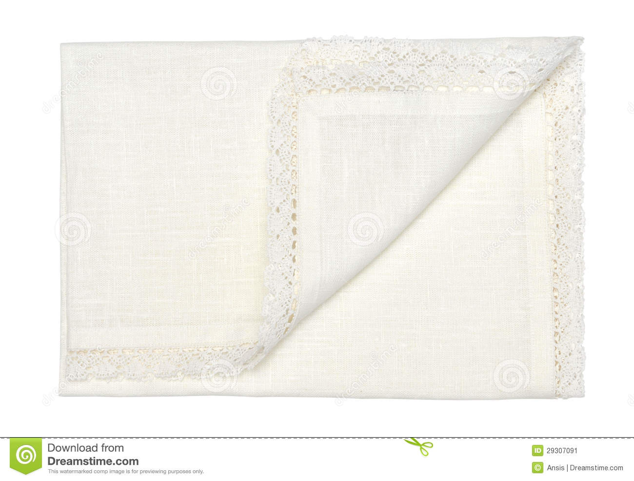Decorative cotton tablecloth stock image image 29307091 for White cotton table cloth