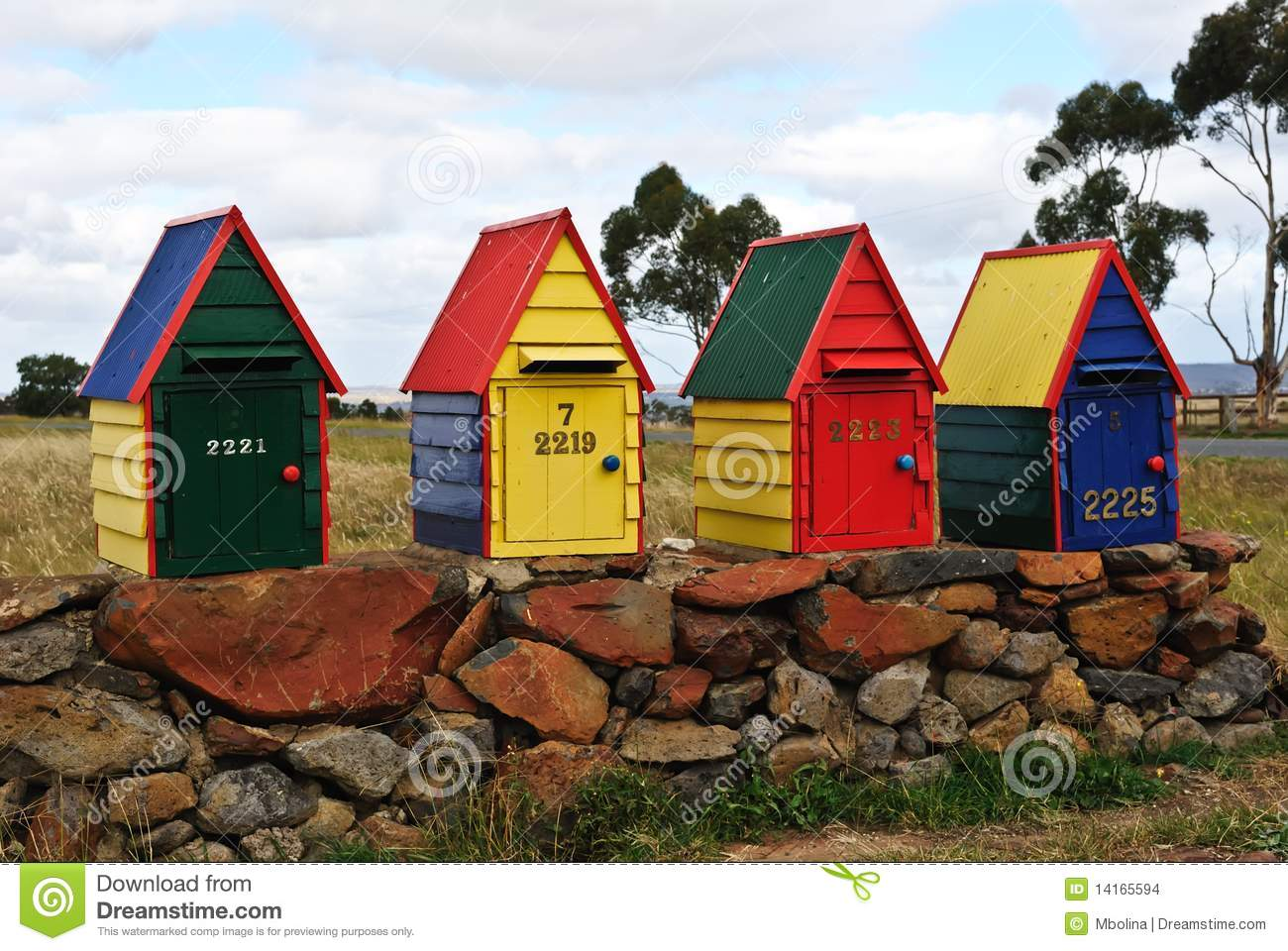 australia country decorative farm handmade line mailboxes - Decorative Mailboxes
