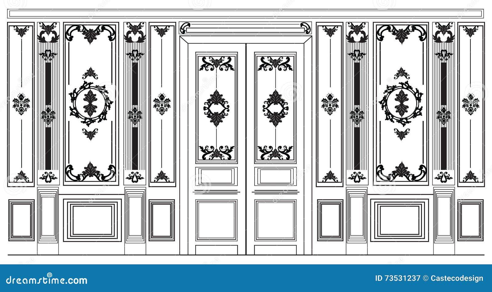 Vintage Ornamental Frames And Panels Vector Set Vector ...