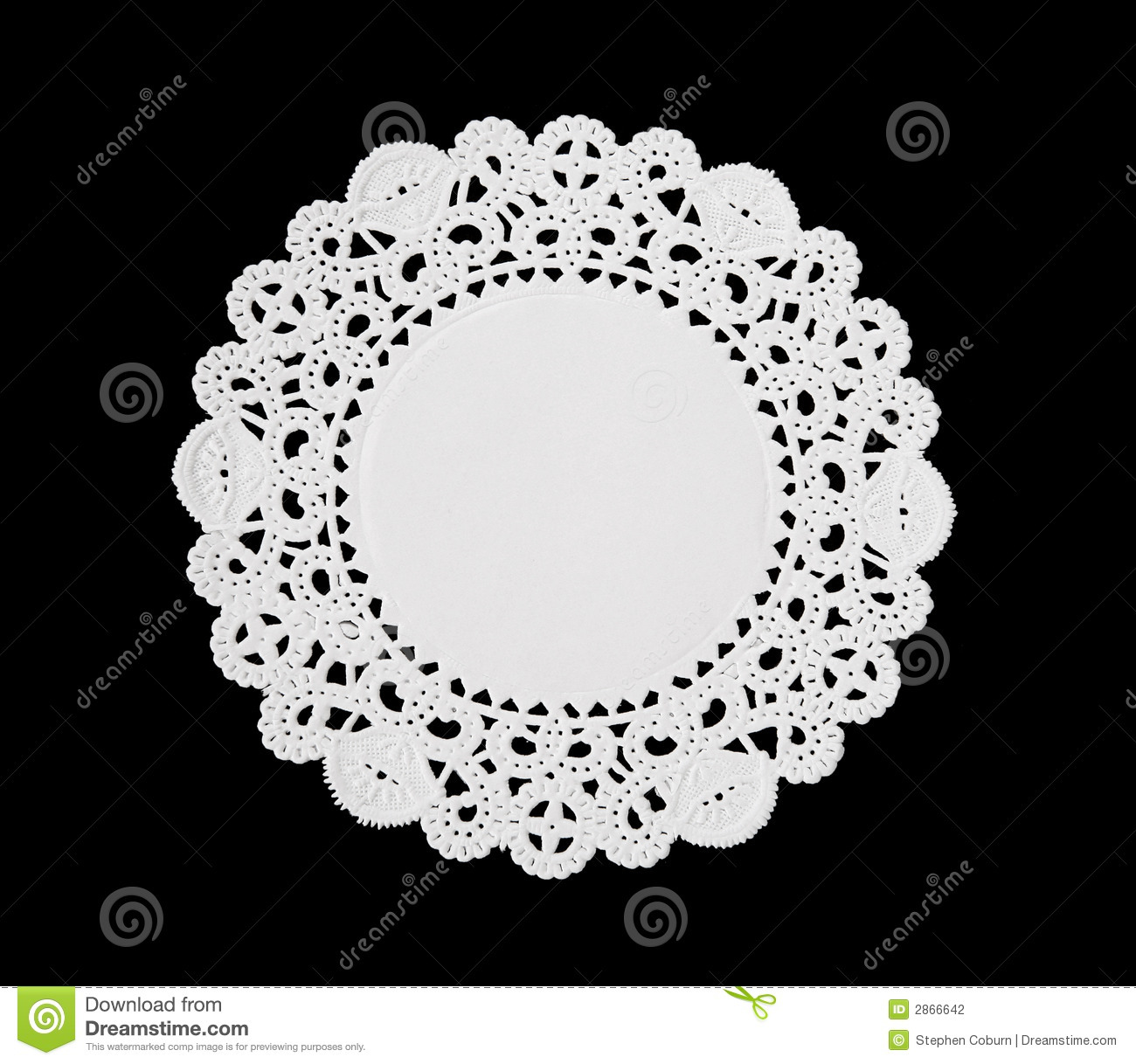 Decorative Doily Stock Photography Image 2866642