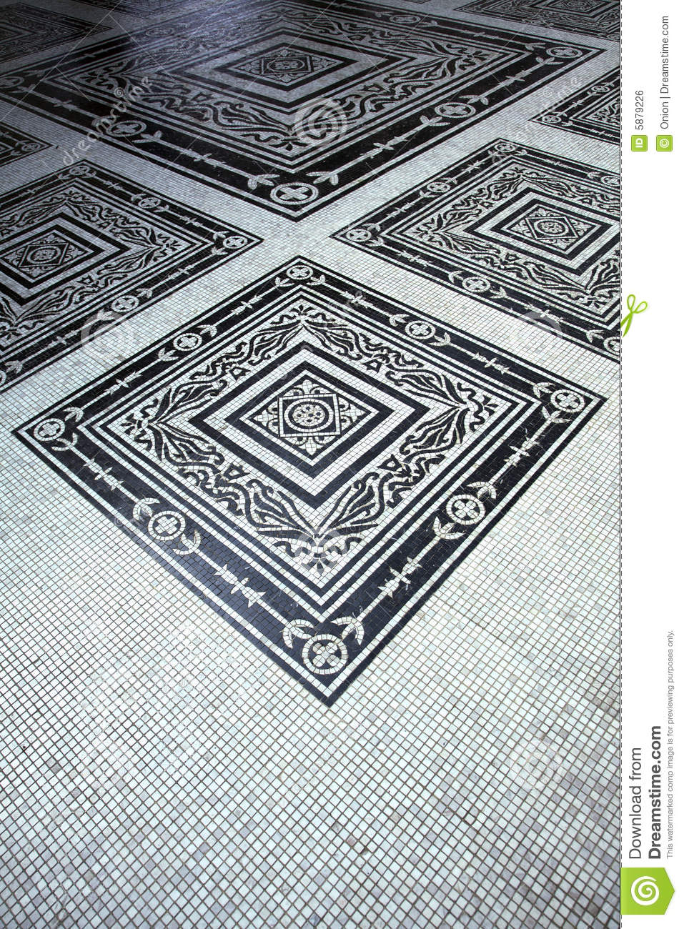 Decorative Floor Tiles Royalty Free Stock Image Image 5879226