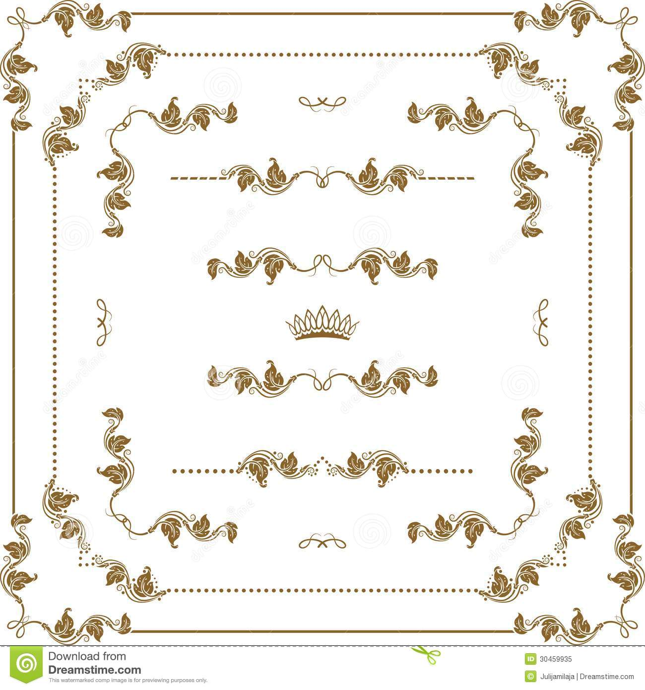 Decorative frame royalty free stock photo image 30459935 for Decoration page