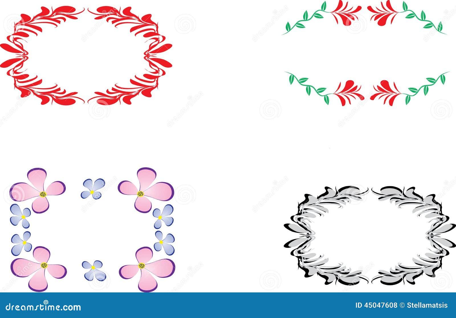 c48542e6eb Decorative frames stock vector. Illustration of decorative - 45047608