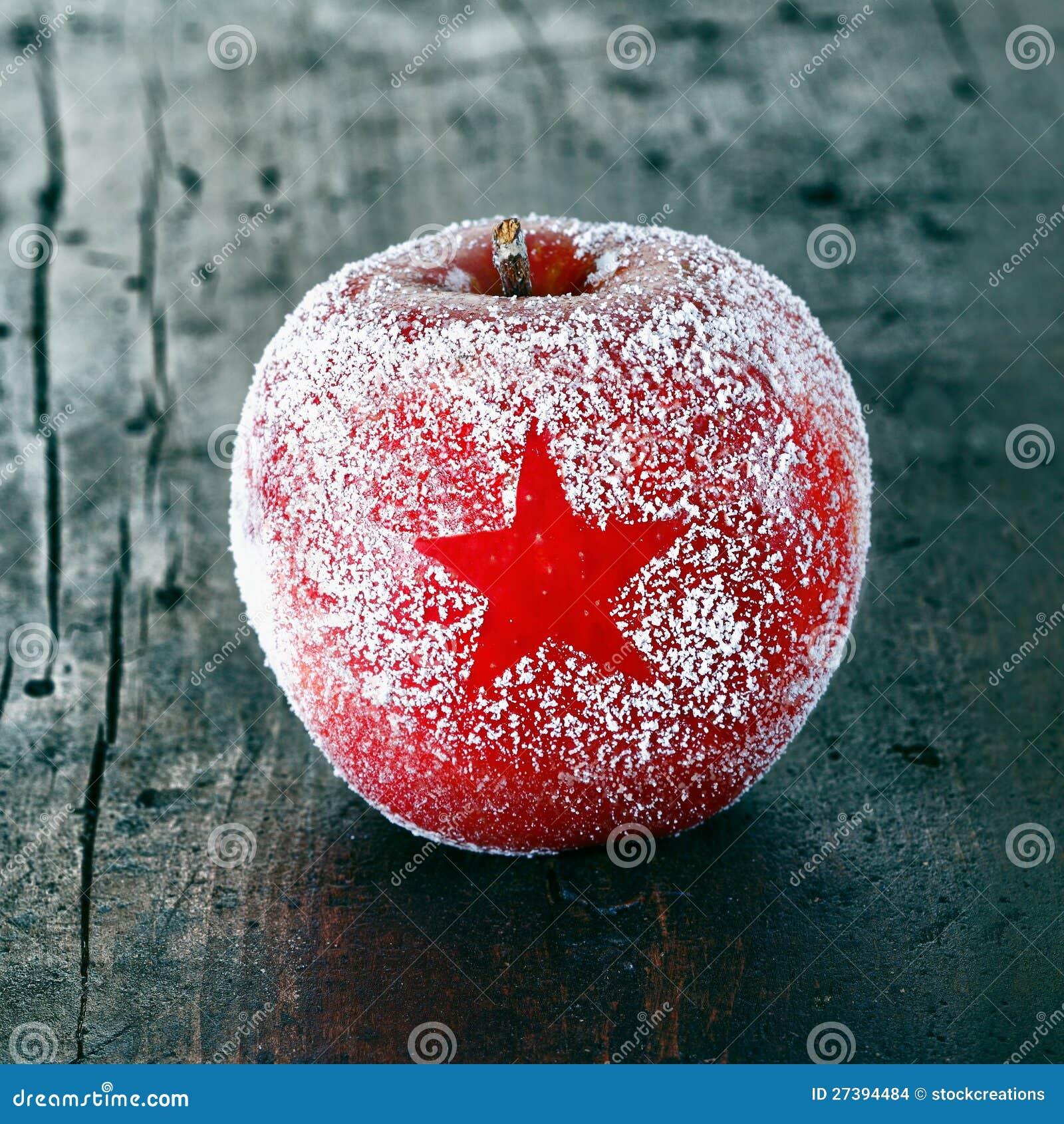 Decorative Fresh Christmas Apple Stock Images - Image: 27394484