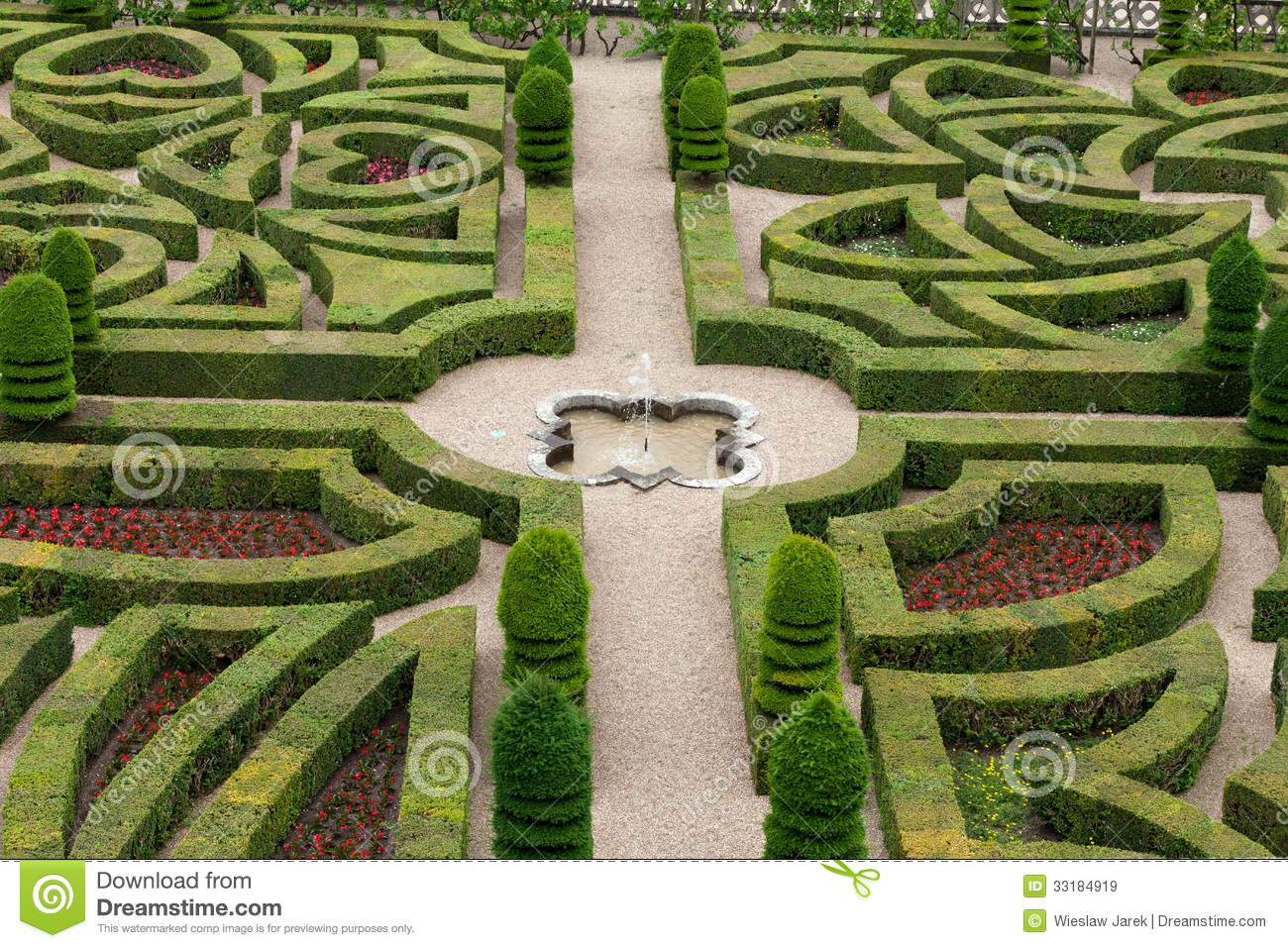 Decorative Gardens Royalty Free Stock Images - Image: 33184919