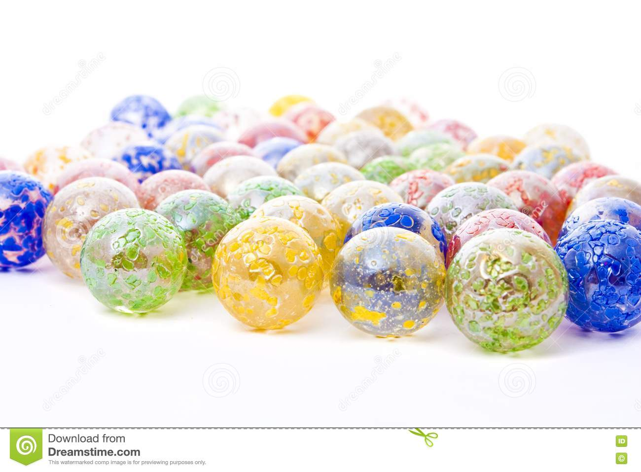 Decorative Colored Glass Balls