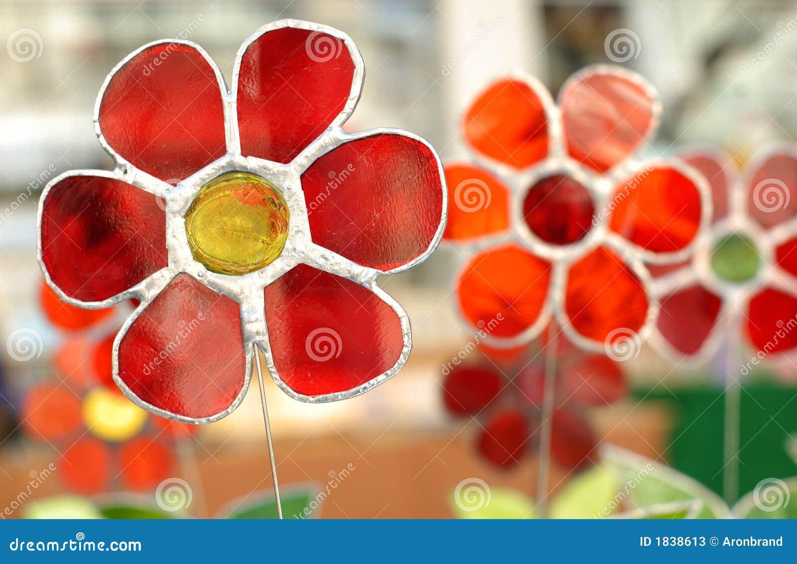 decoration decorative flowers glass - Decorative Glass