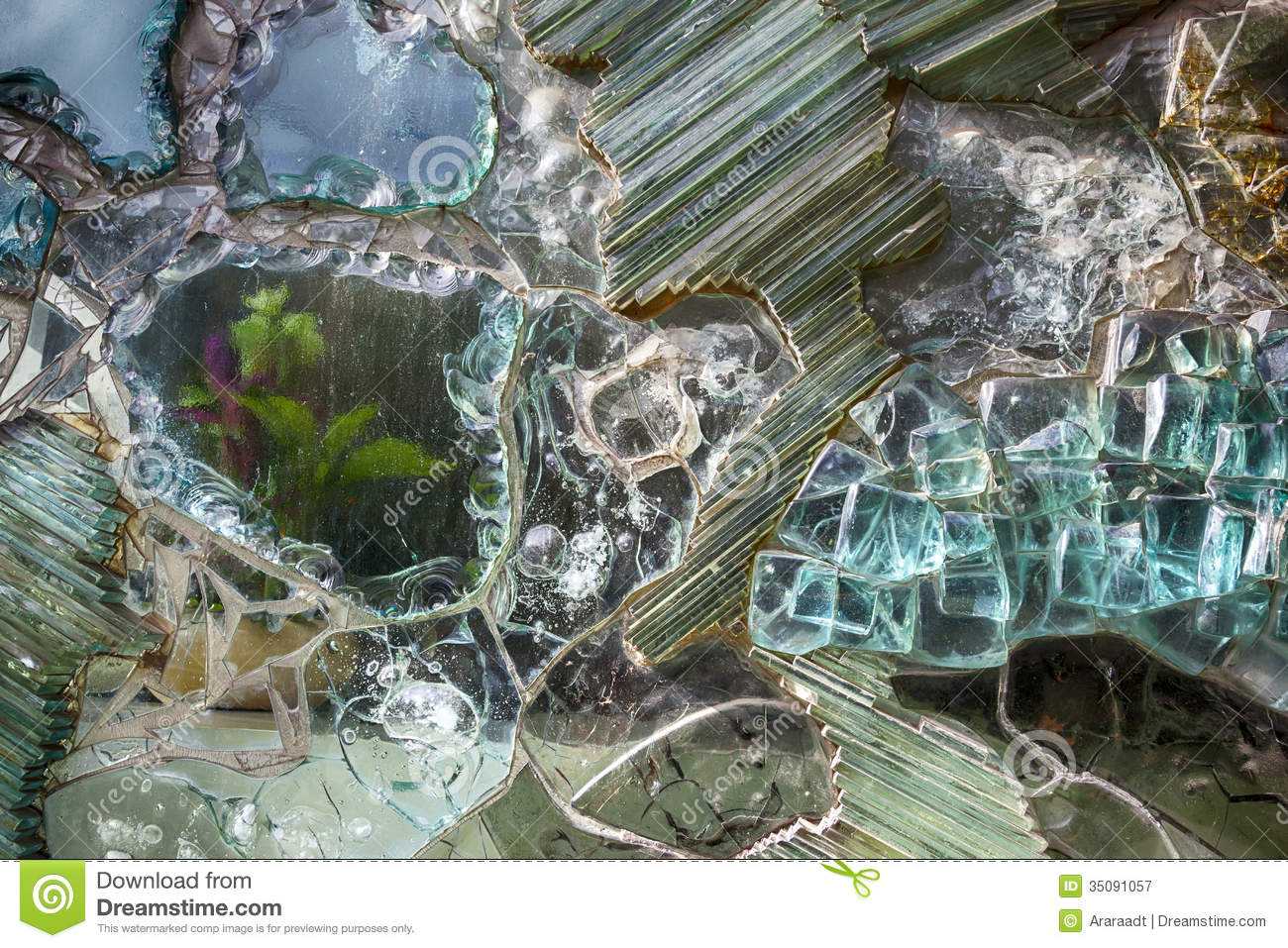 decorative glass royalty free stock photography - Decorative Glass
