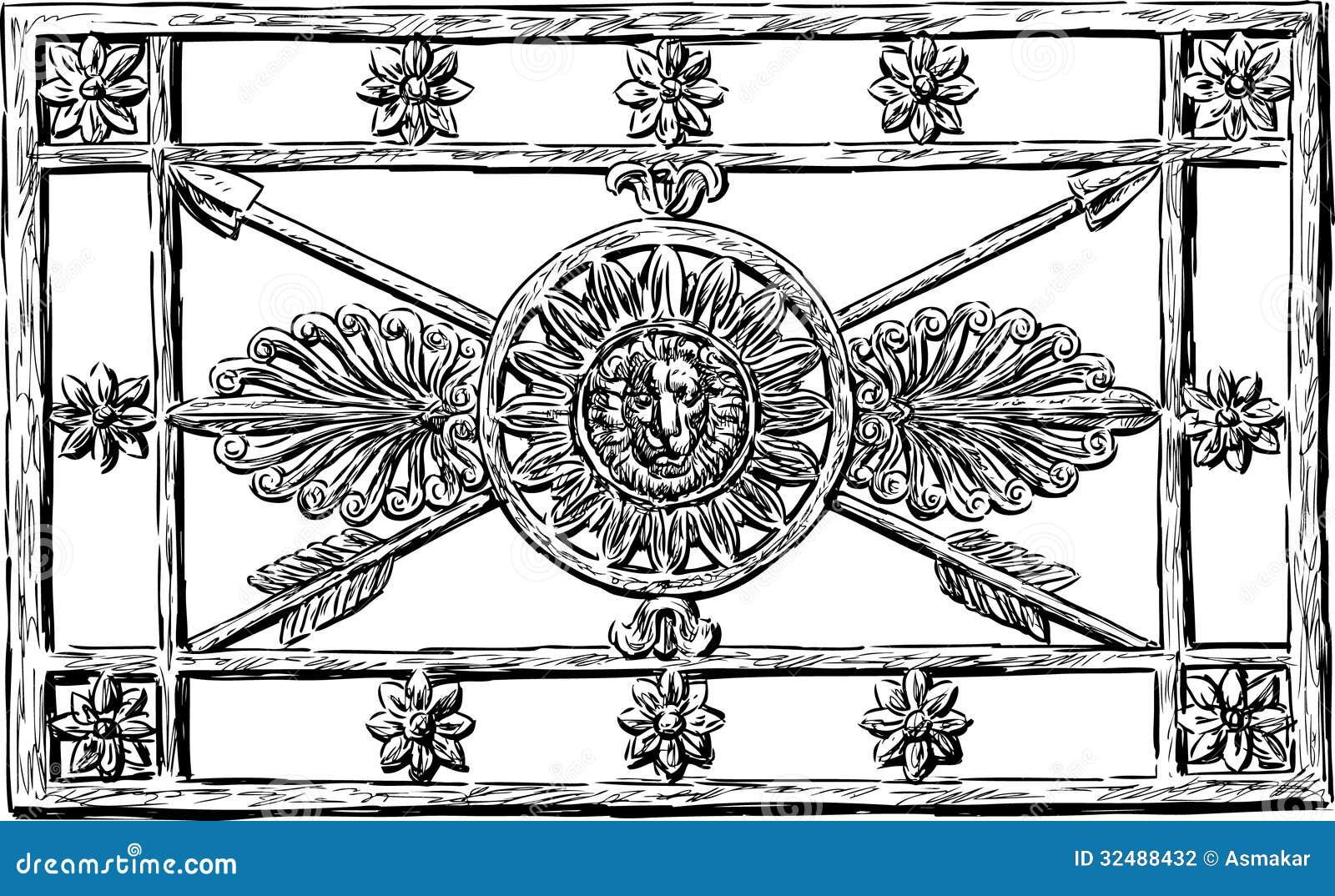 Decorative Metal Grates Decorative Grate Stock Photography Image 32488432
