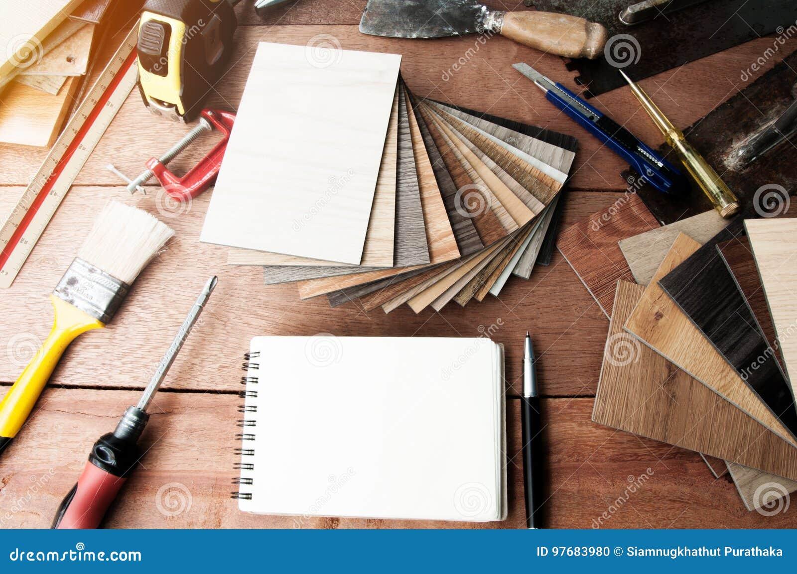 Decorative House, Paintbrushes, Interior Design Stock Photo - Image of  decorative, construction: 97683980