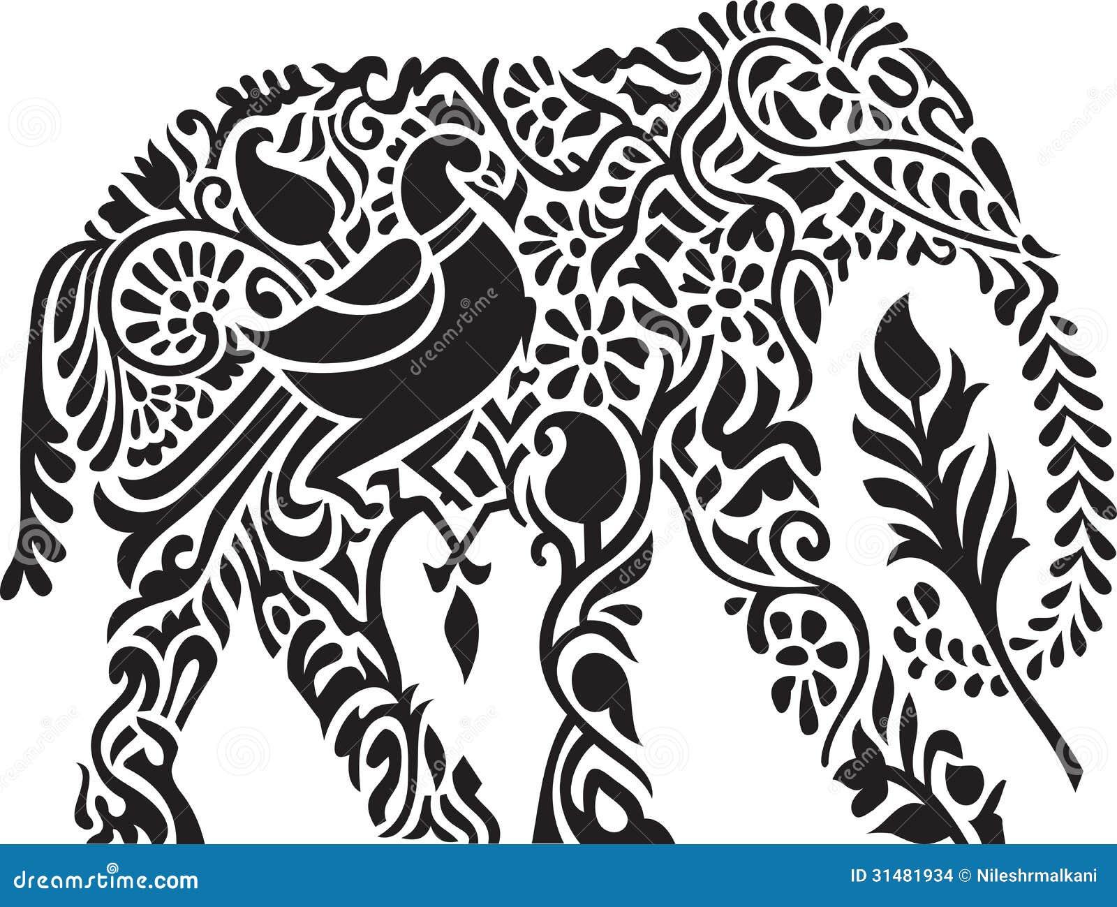 Decorative indian elep...
