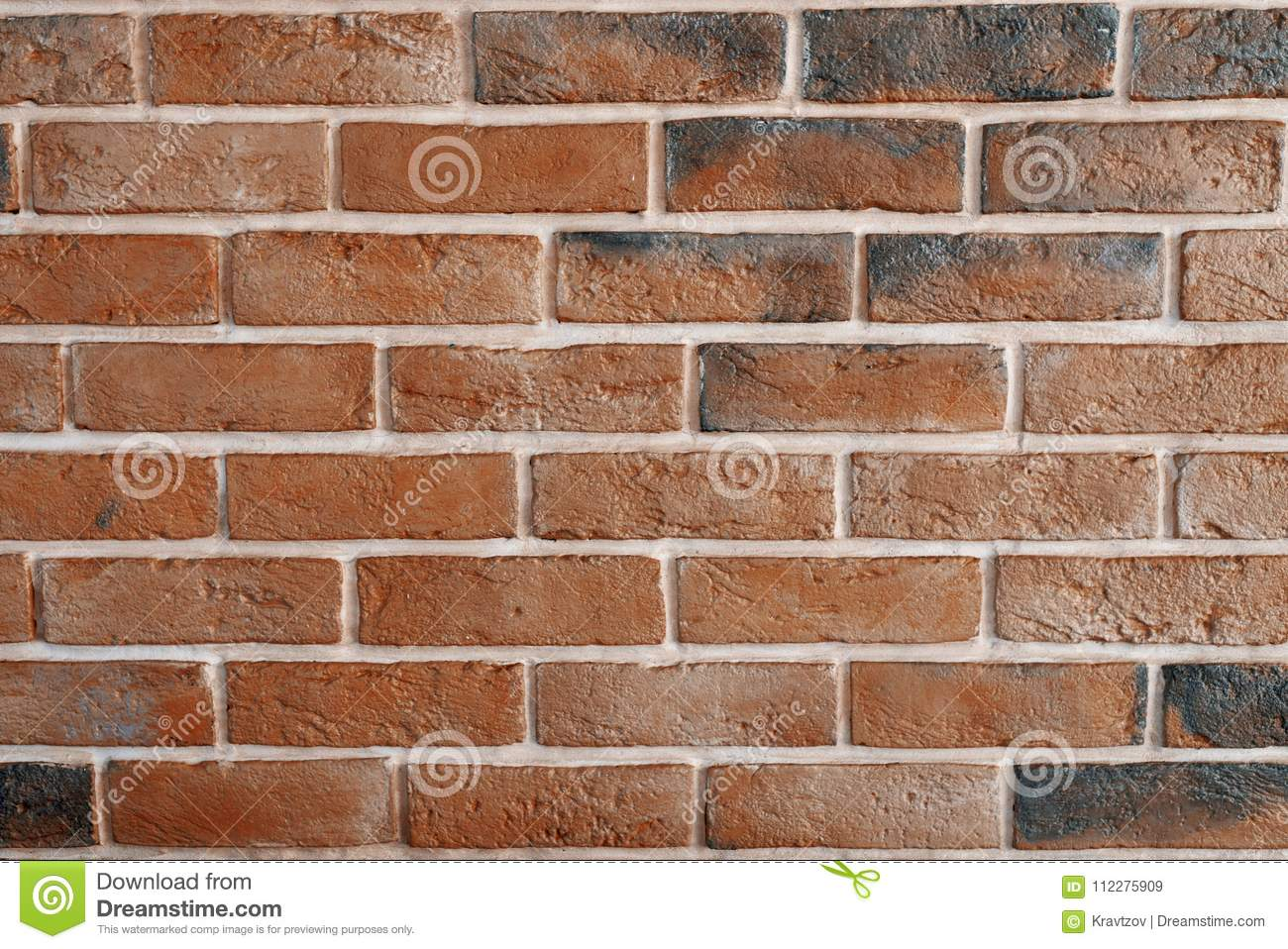 Download Decorative Interior Brick Wall Painted In Black And Bronze Stock  Image   Image Of Facade
