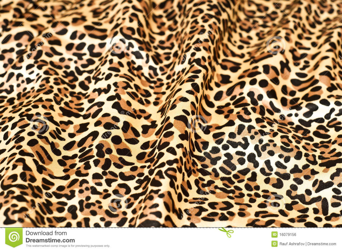Decorative Leopard Skin Textured Wallpaper Royalty Free