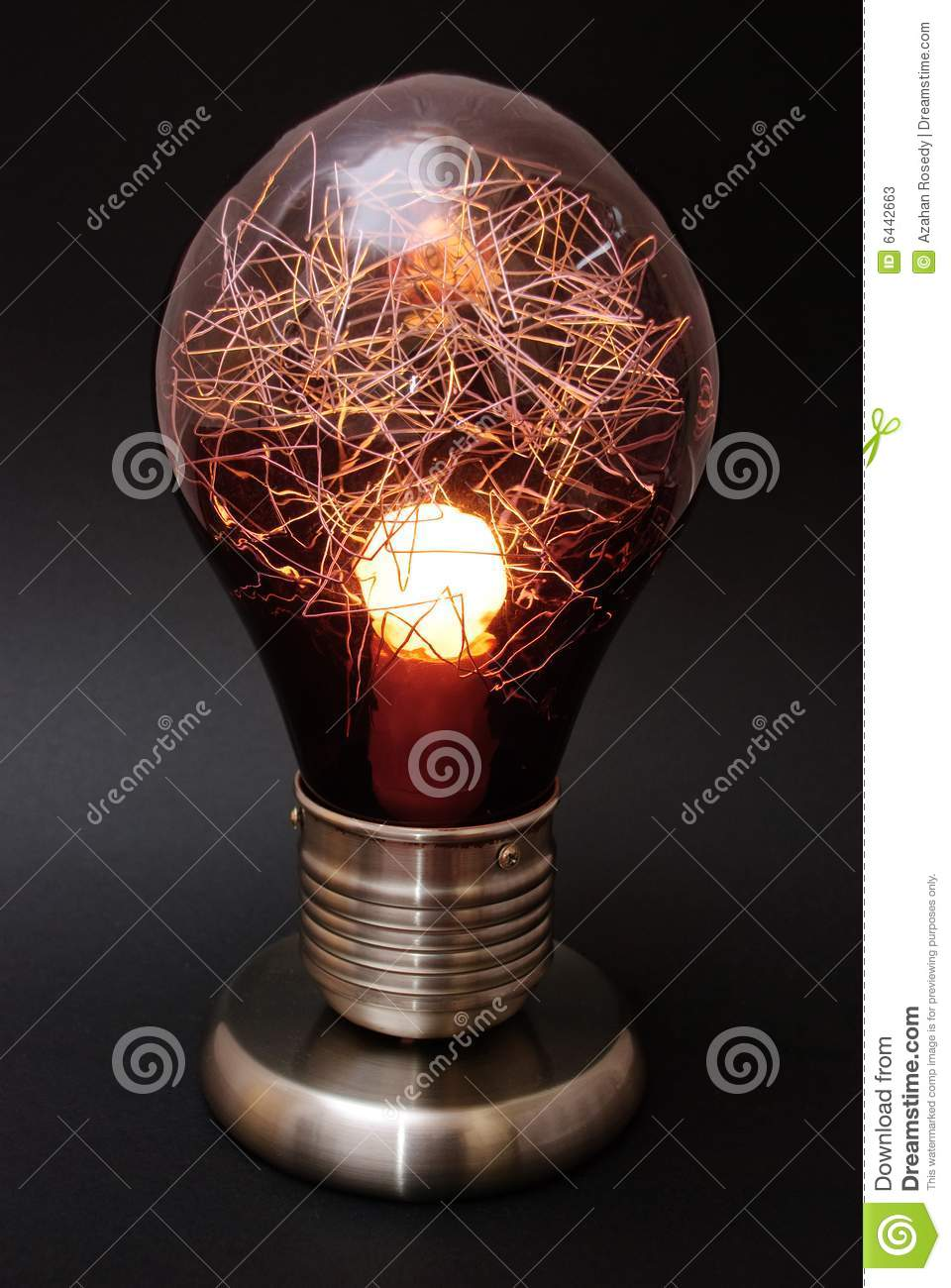 Decorative Light Bulb Lamp Stock Photos - Image: 6442663
