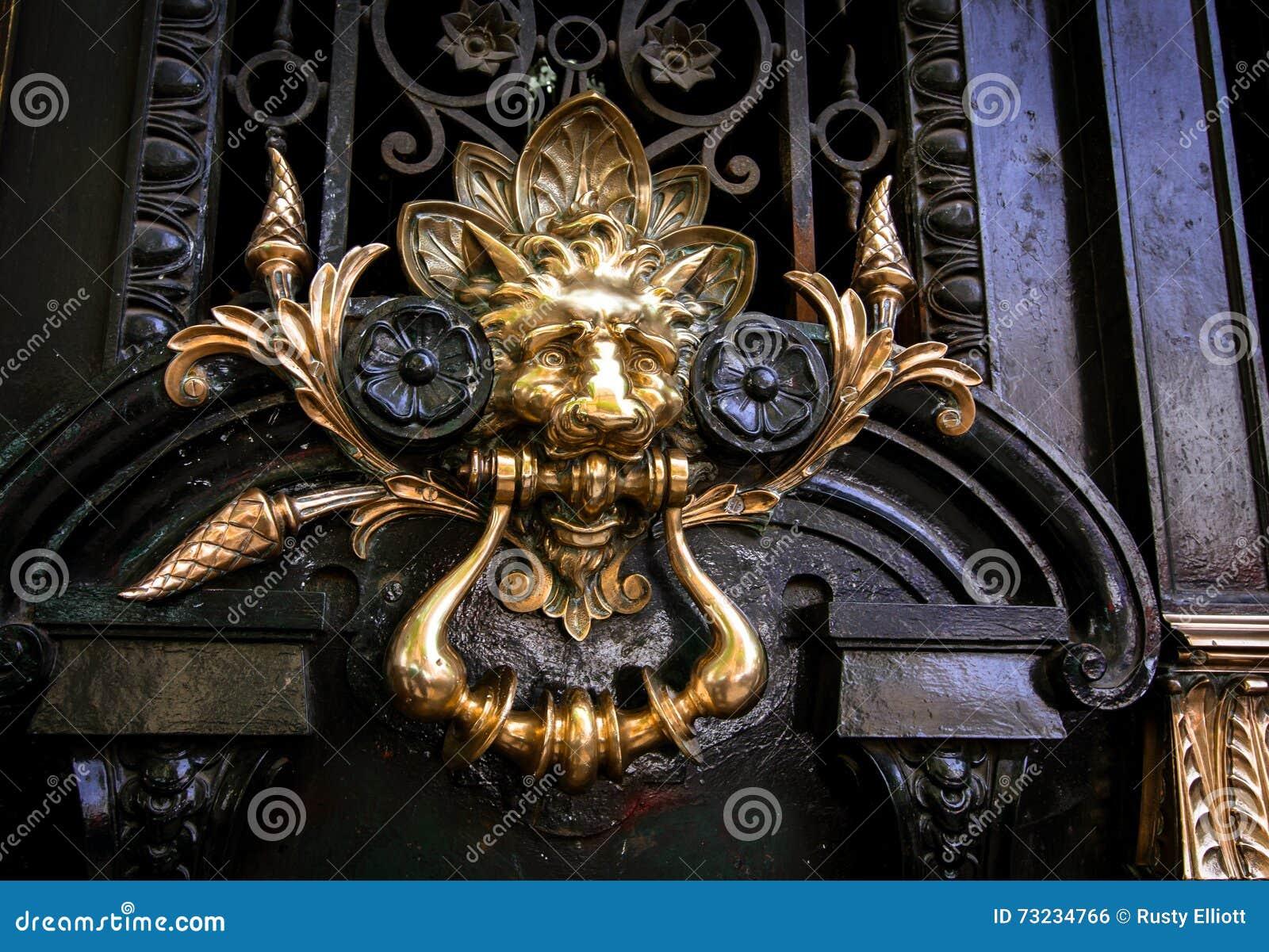 Ordinaire Decorative Lion Door Handle. Buenos, Metal.