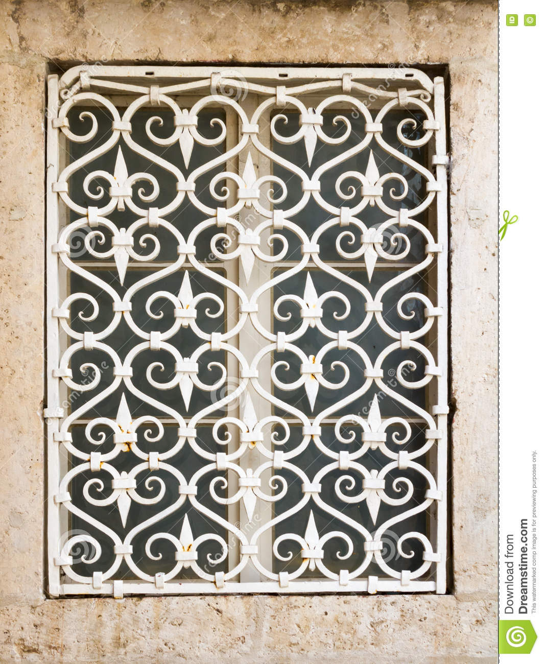 iron window grill house decorative metal window grill metal window grill stock photo image of historic mesh