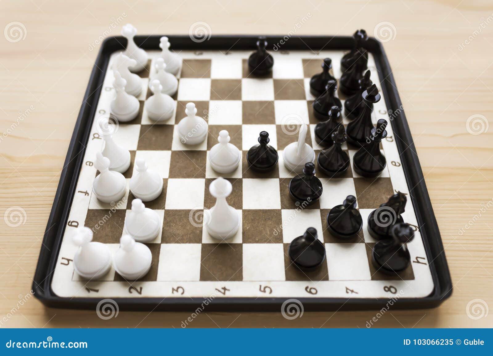 Download wallpaper 2780x2780 chess, snowman, figures, pawns, chess.