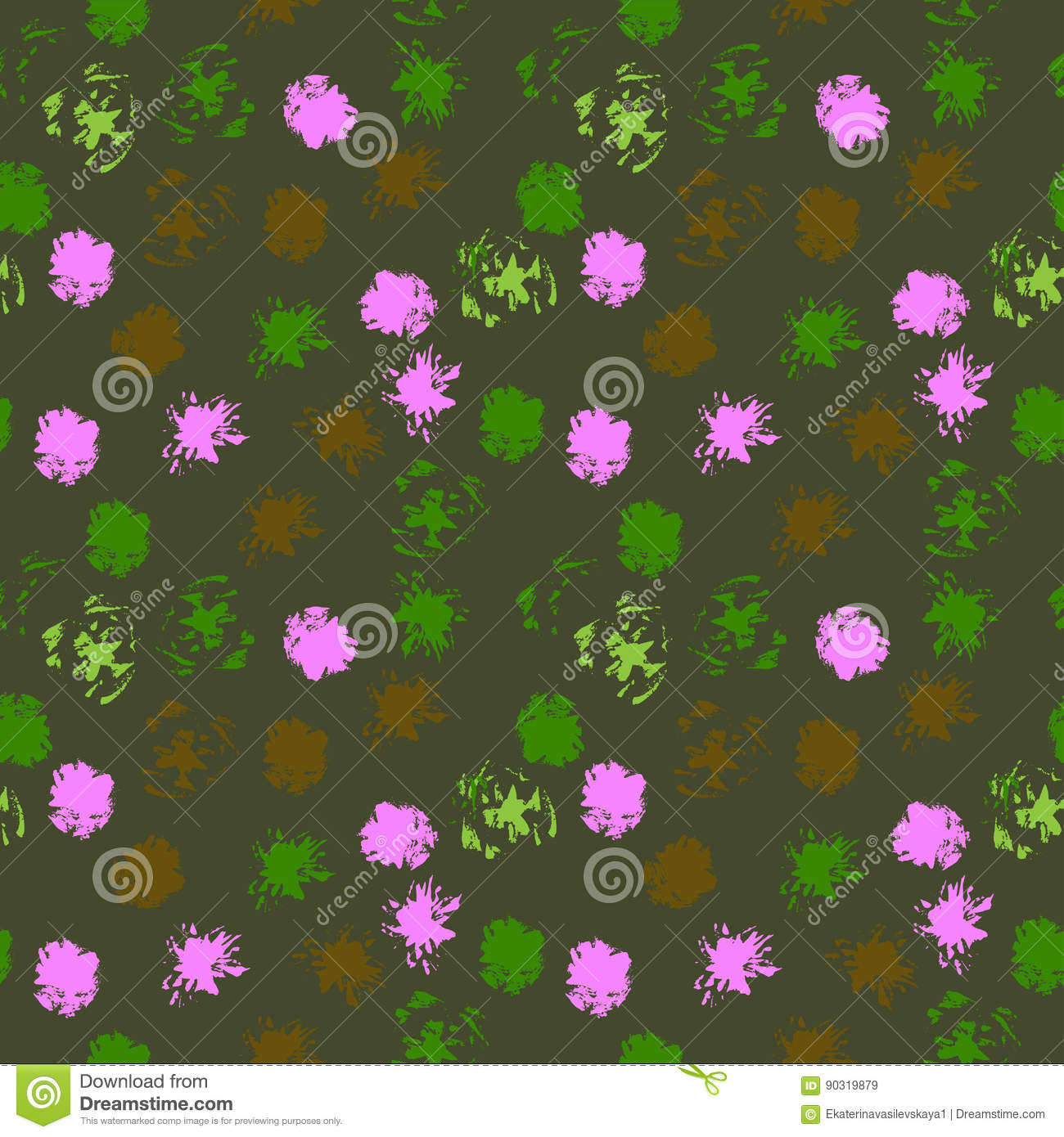 Decorative Modern Seamless Pattern For Home Decor Vector Background