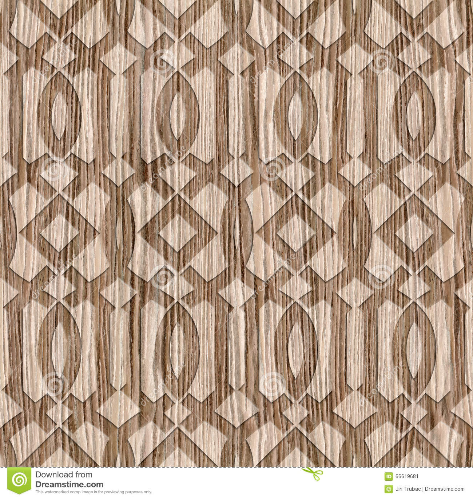 Decorative Oriental Pattern   Interior Design Wallpaper