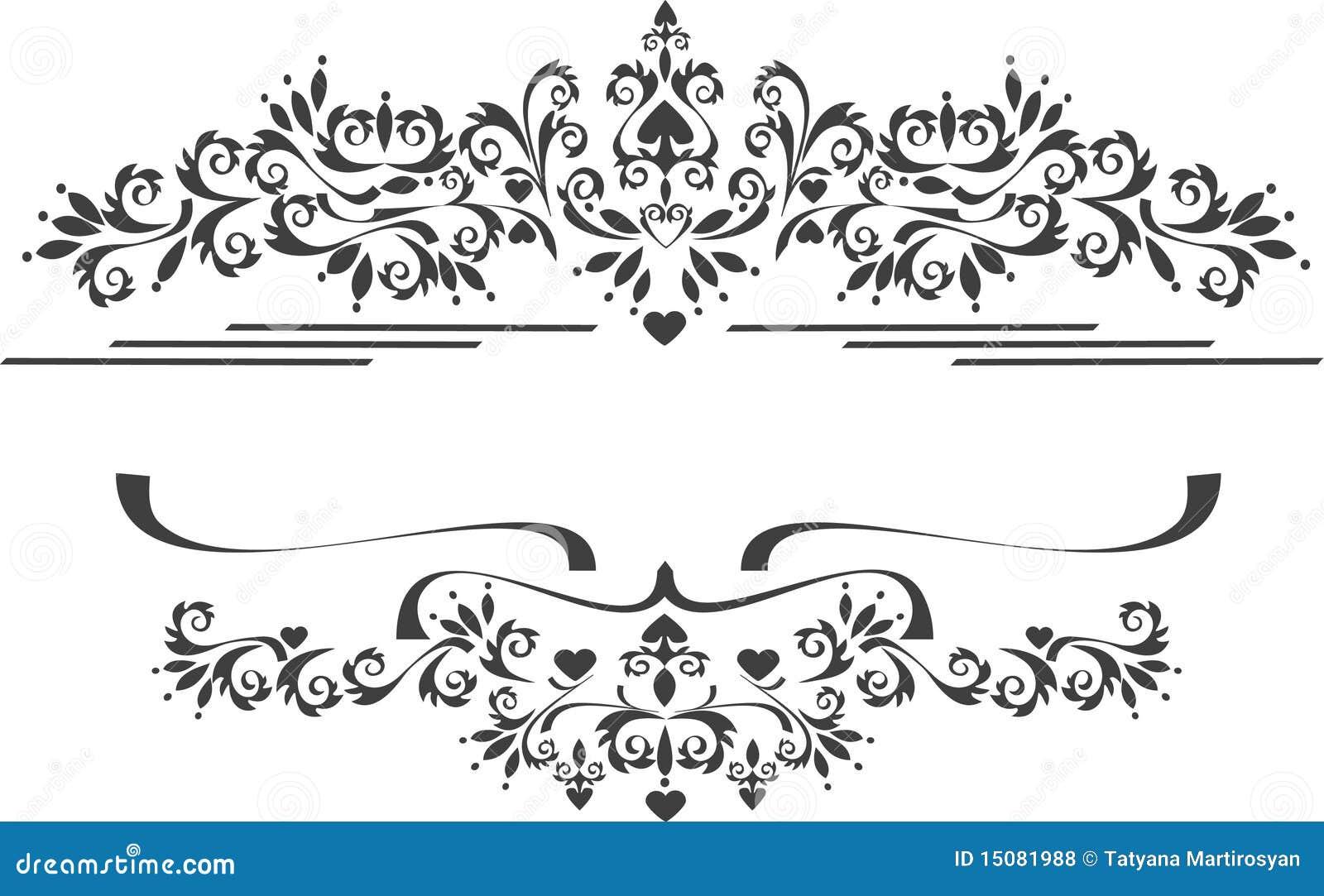 Decorative Ornament Border , Frame. Graphic Arts. Stock Vector ...