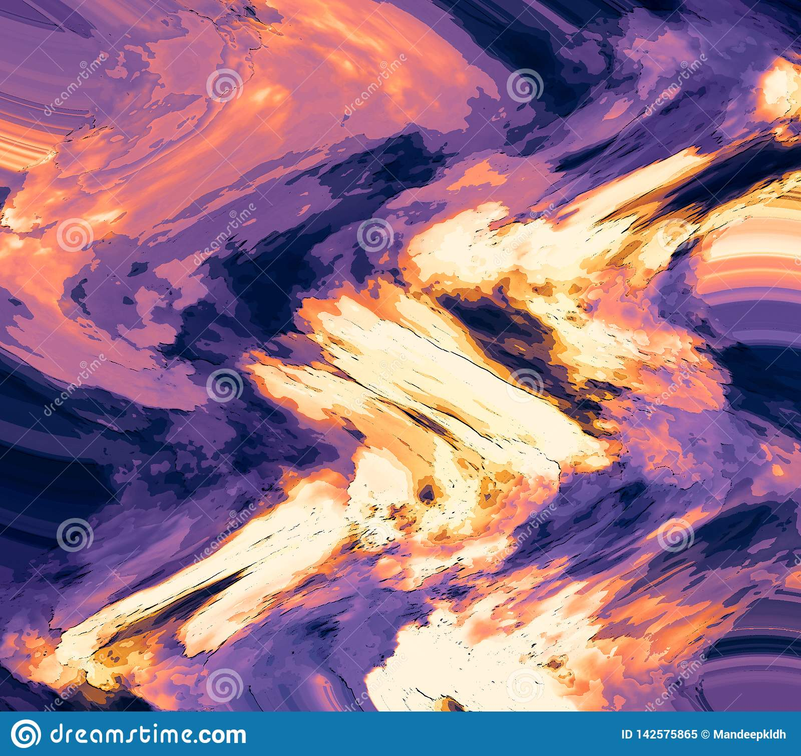 Pastel Color Clouds Scattered On Background Colorful Wallpaper Abstract Style Brush Strokes Artwork Stock Illustration Illustration Of Disney Celebration 142575865