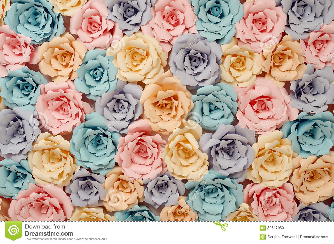 decorative paper flowers - Decorative Paper