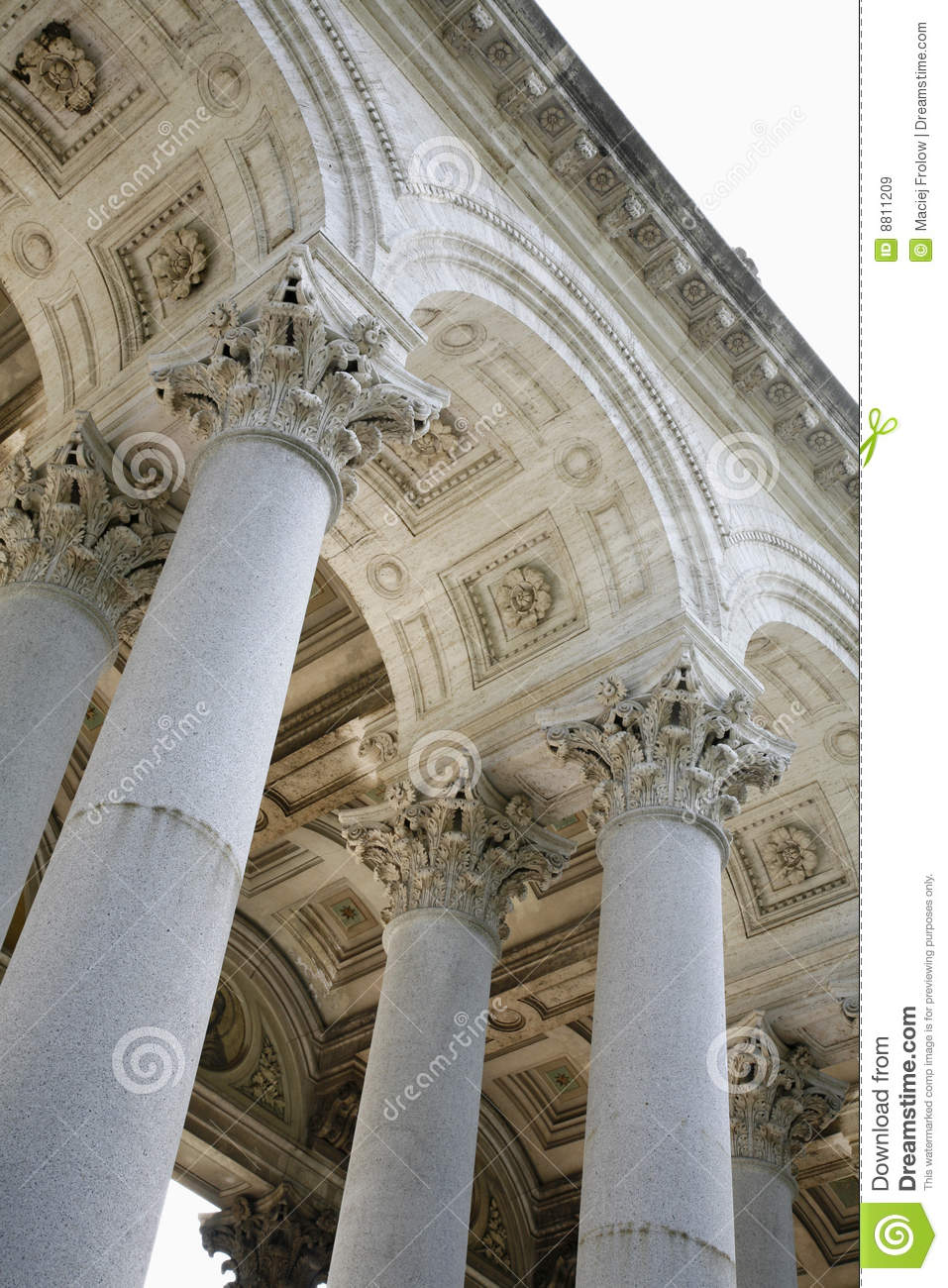 Decorative Pillars Stock Image Image Of Carving Column