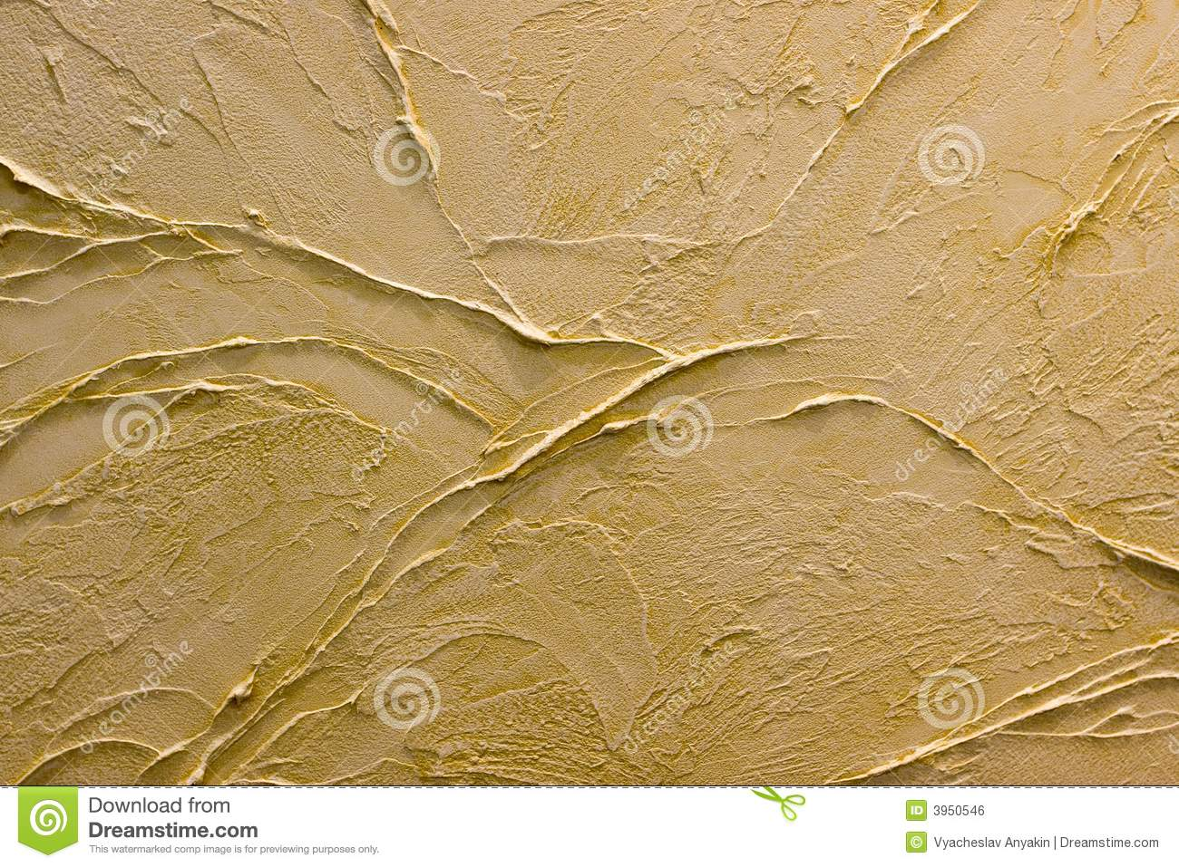 Decorative Interior Plastering : Decorative plaster stock photo image of interior brown