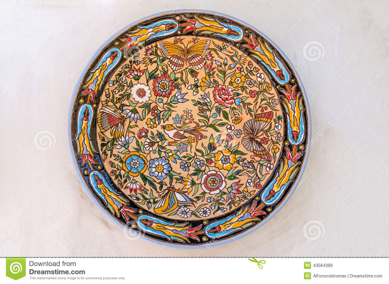 Decorative plate stock illustration image 43564389 - Decoratieve platen ...